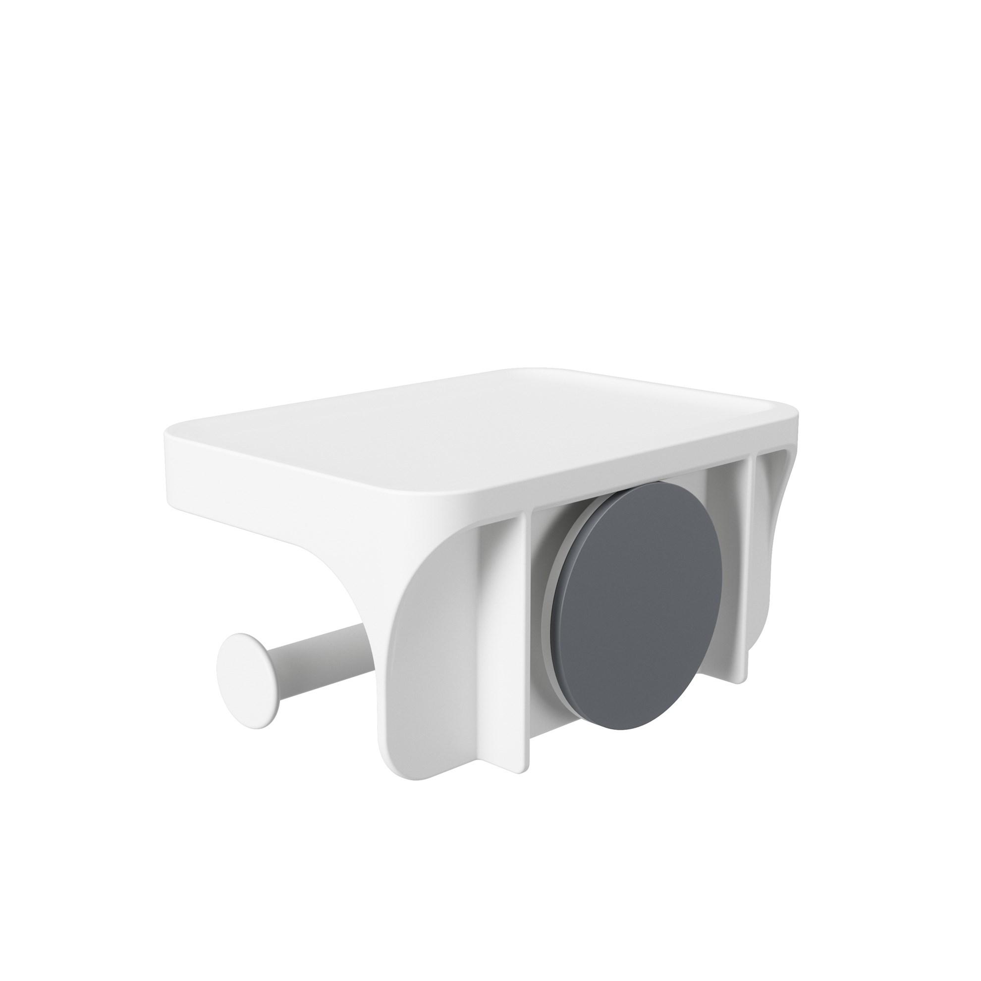 Držák na toaletní papír FLEX bílý_1