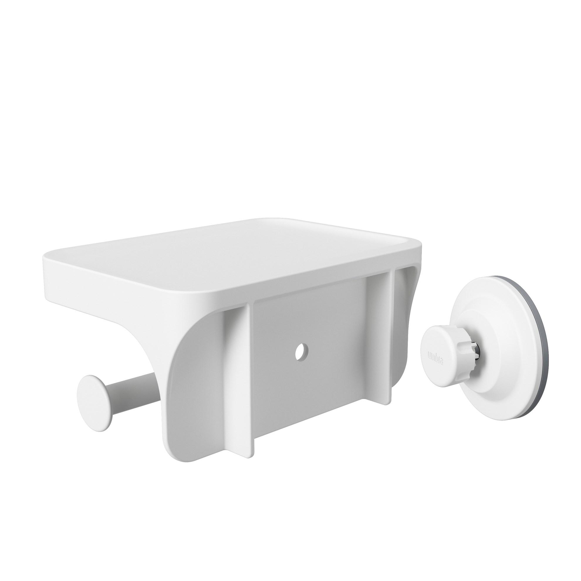Držák na toaletní papír FLEX bílý_2