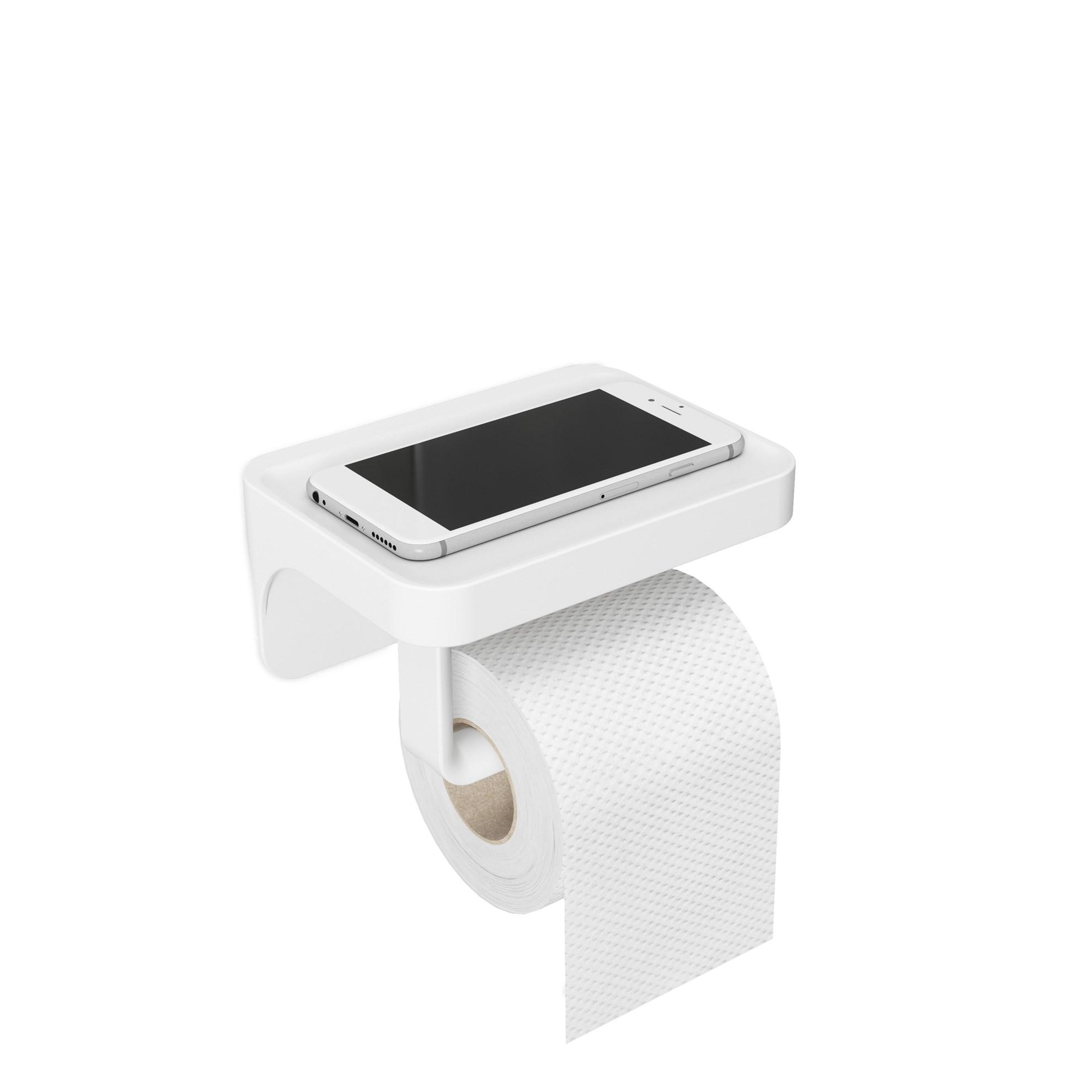 Držák na toaletní papír FLEX bílý_4