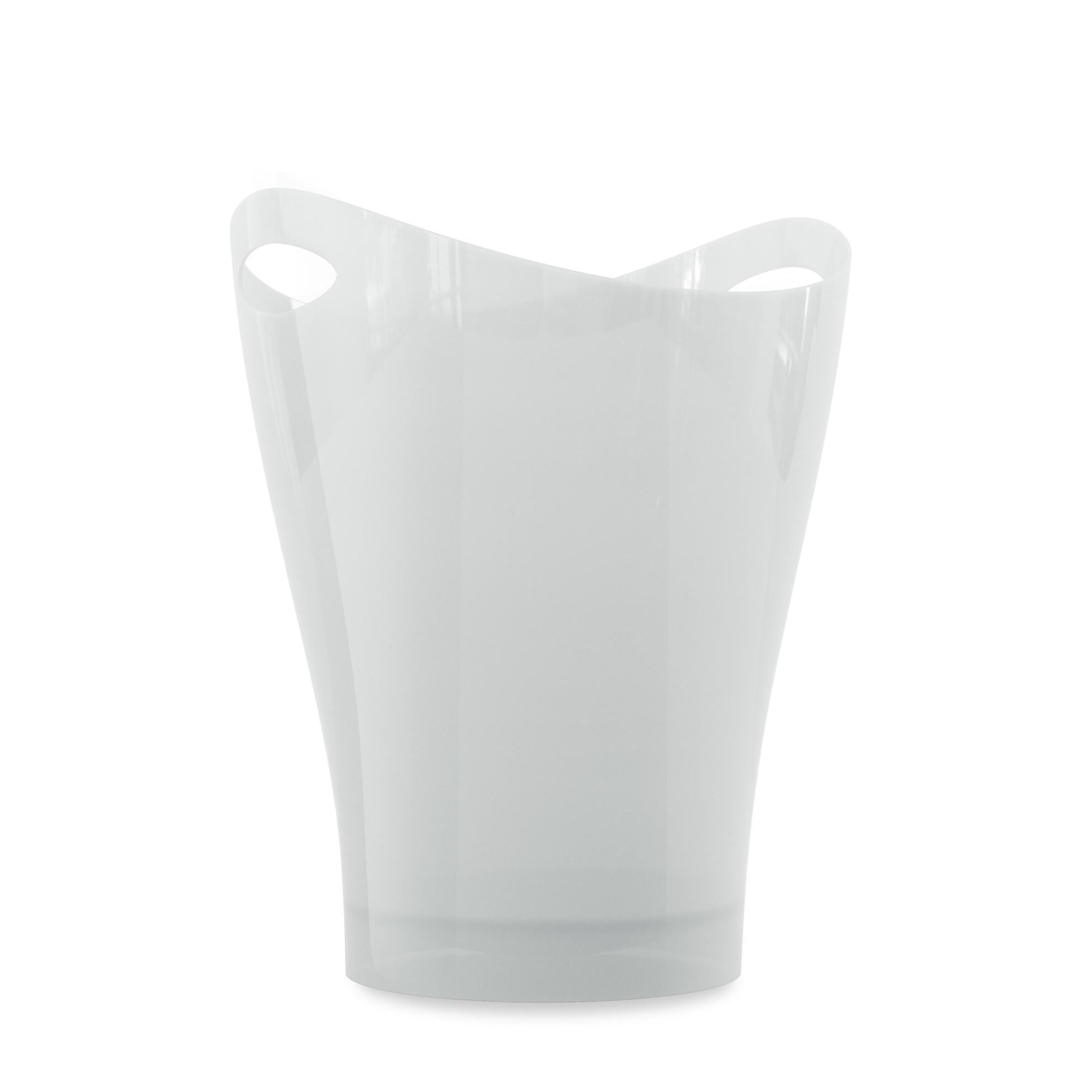 Odpadkový koš GARBINO lesklý/bílý_1