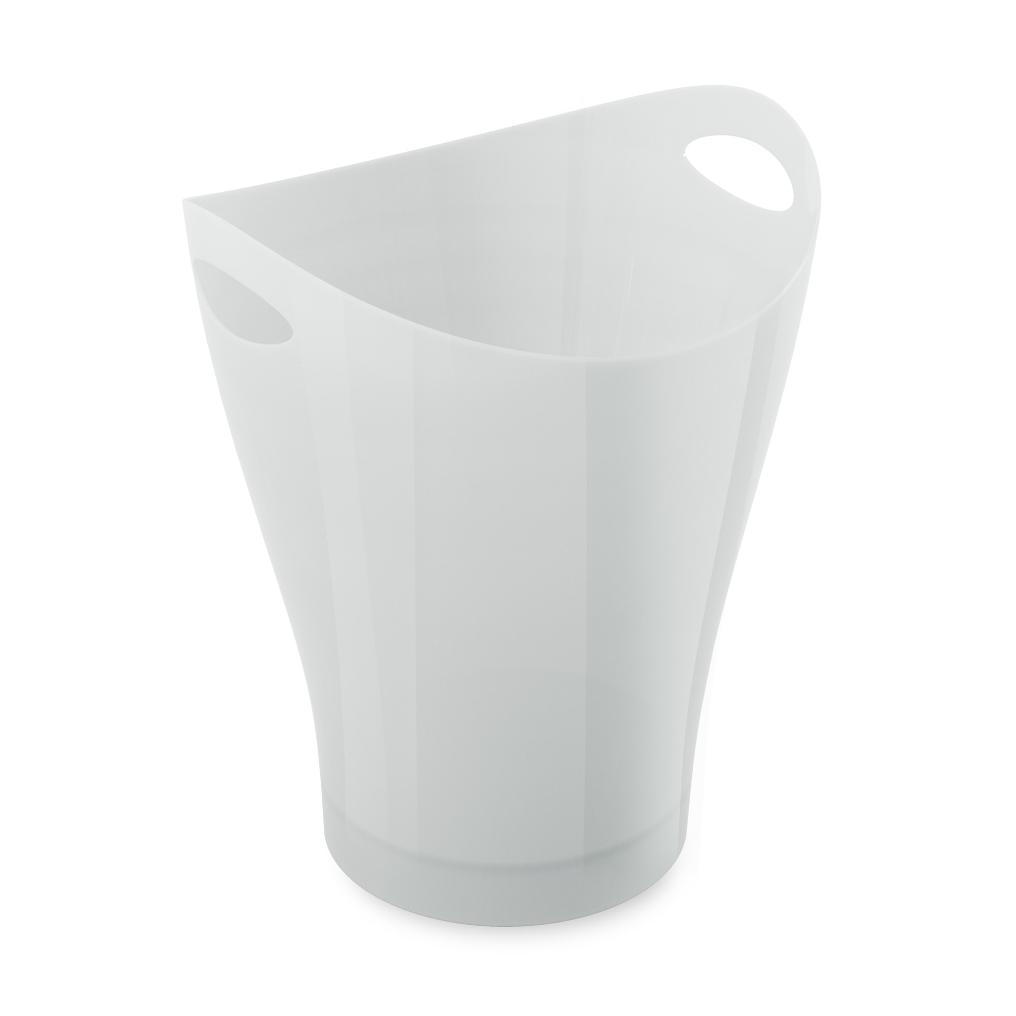 Odpadkový koš GARBINO lesklý/bílý_2