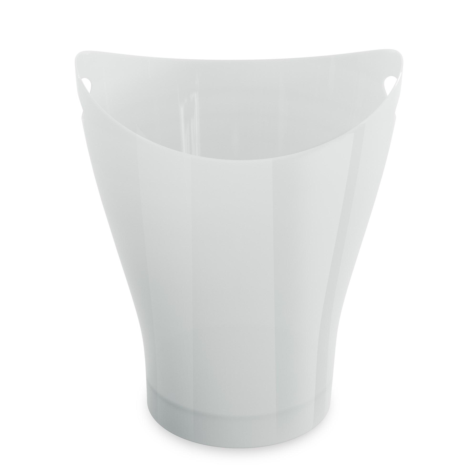 Odpadkový koš GARBINO lesklý/bílý_3
