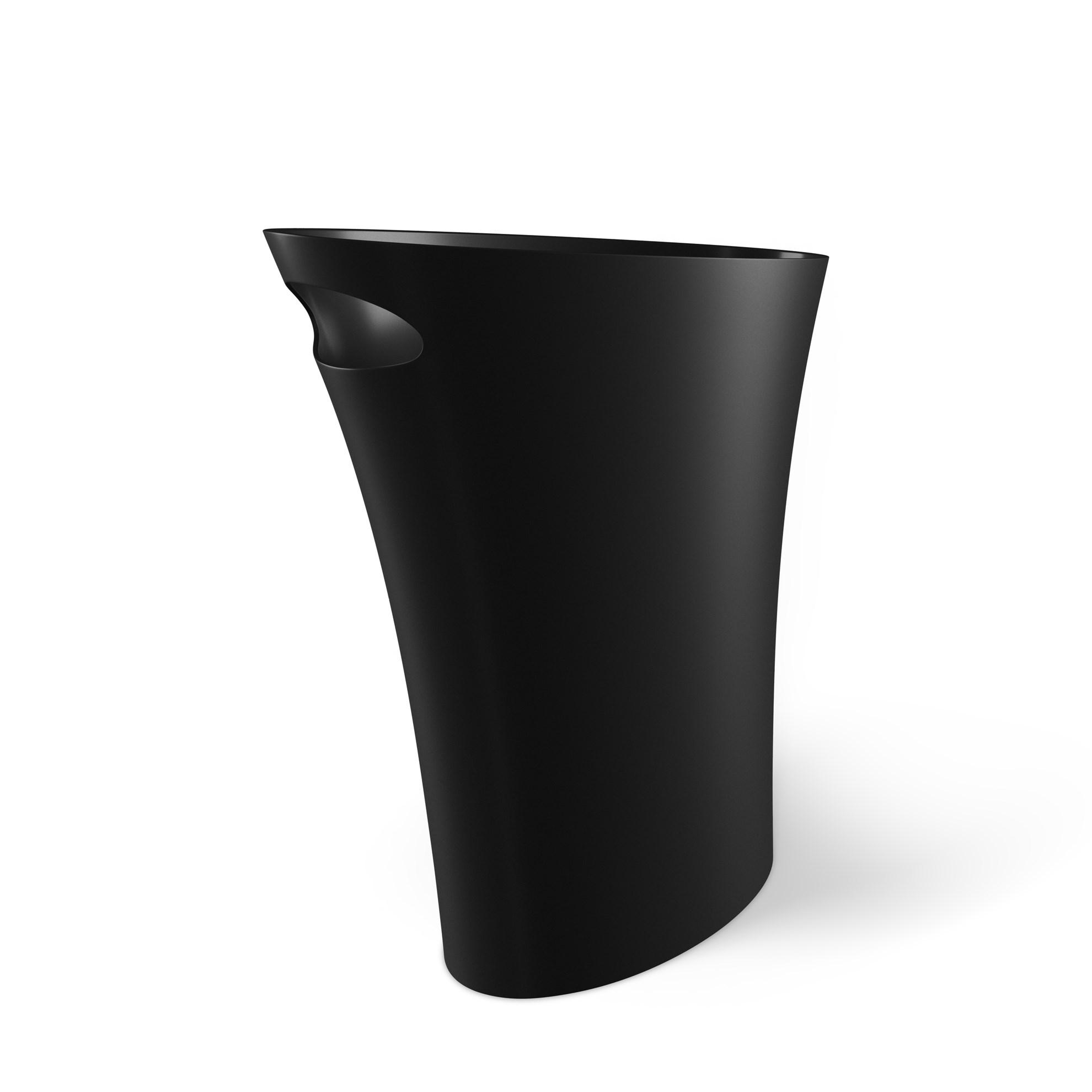 Odpadkový koš SKINNY 7,5 l černý_0