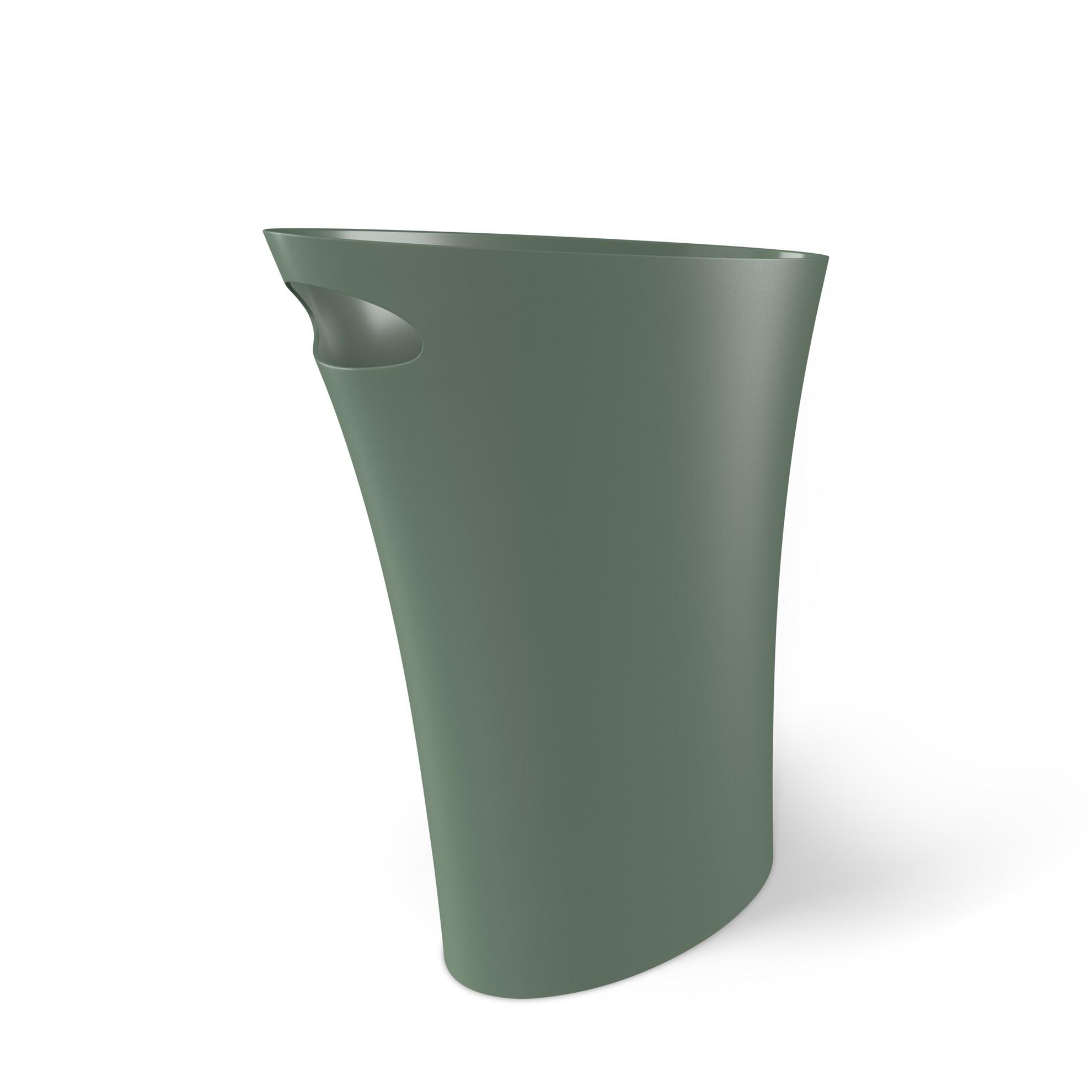 Odpadkový koš SKINNY 7,5 l zelený_0