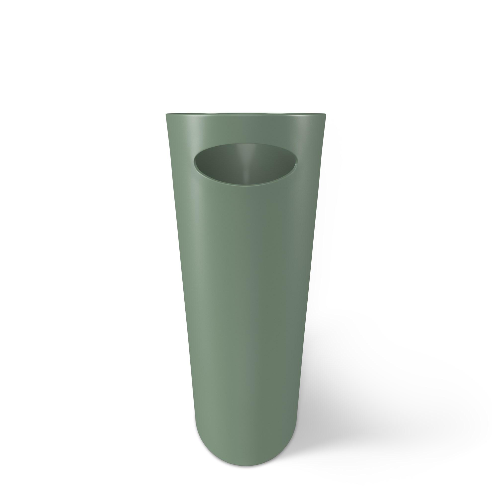 Odpadkový koš SKINNY 7,5 l zelený_1