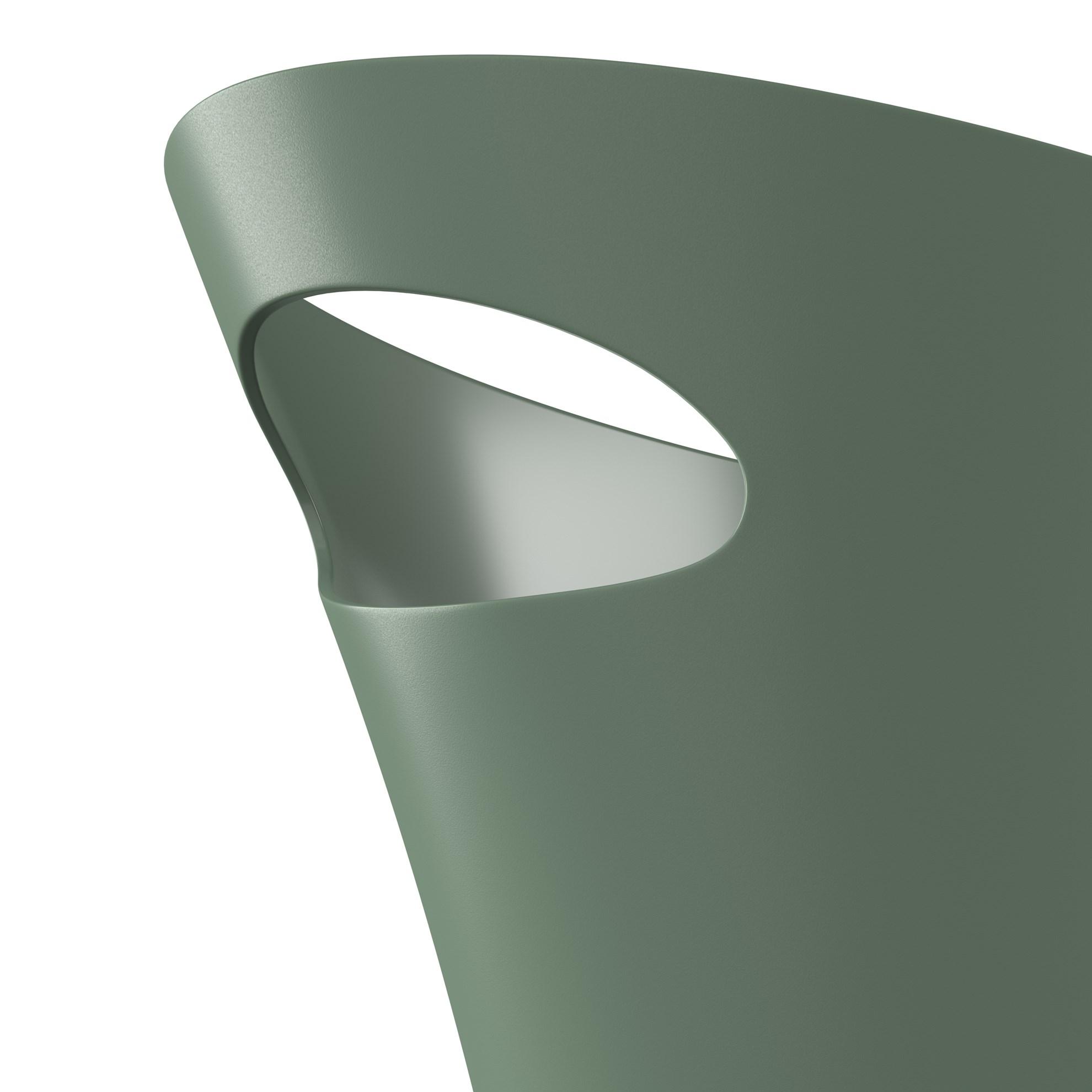 Odpadkový koš SKINNY 7,5 l zelený_3