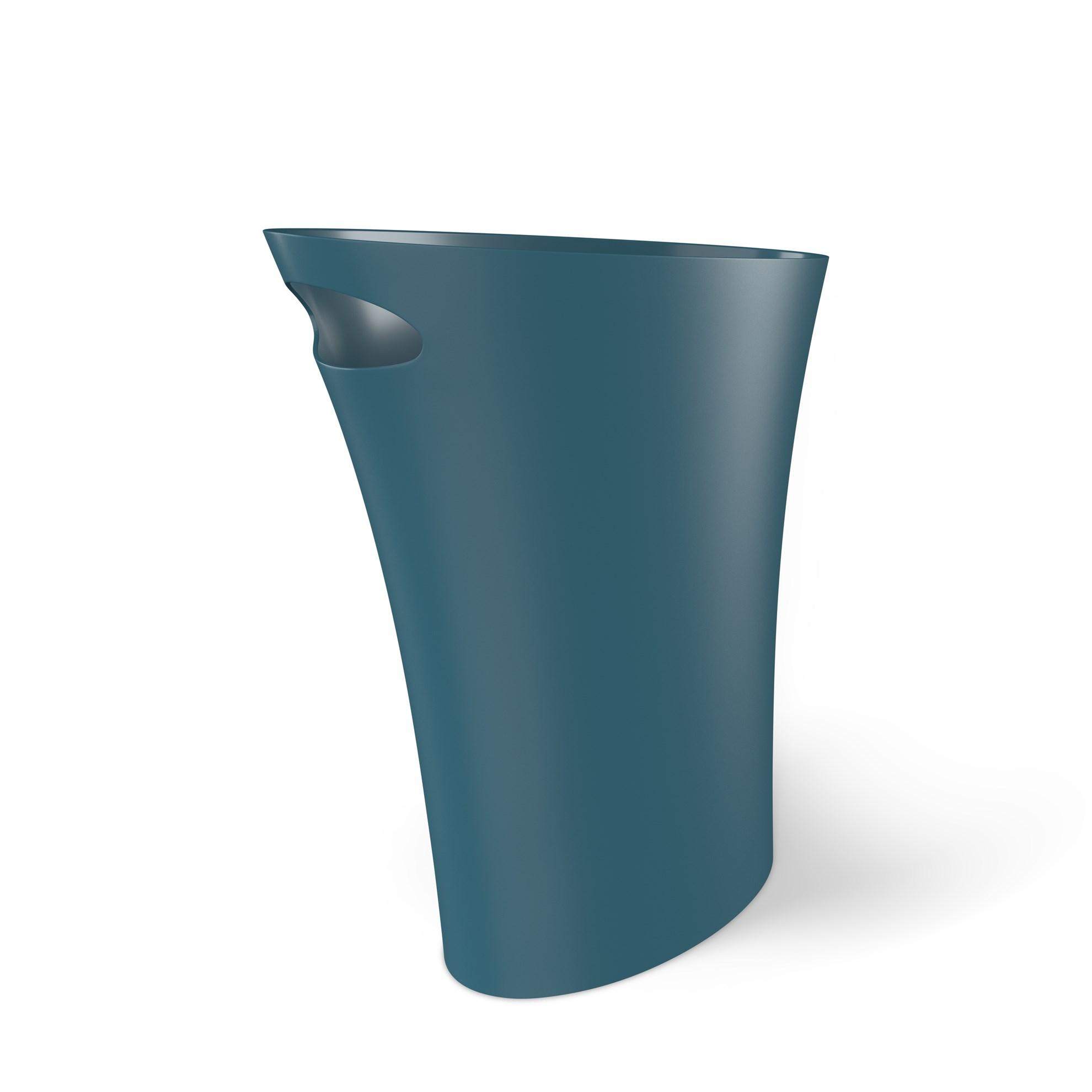 Odpadkový koš SKINNY 7,5 l modrý_0