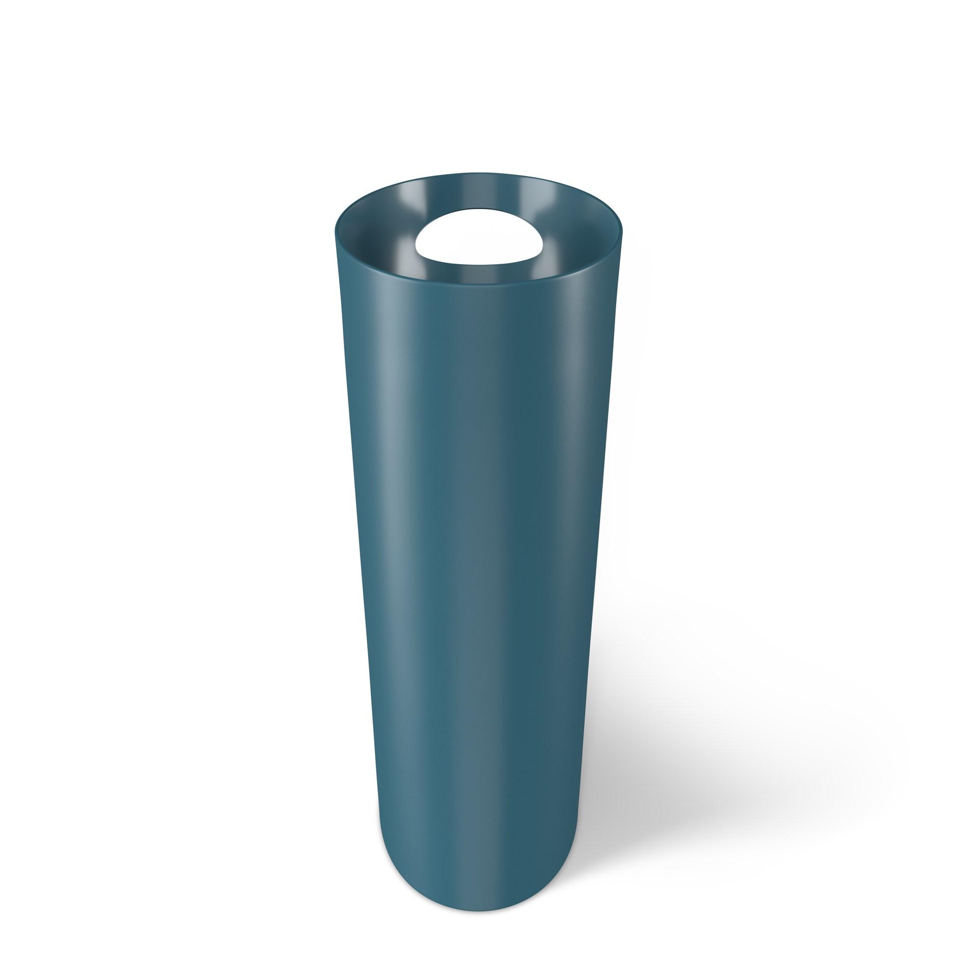 Odpadkový koš SKINNY 7,5 l modrý_2