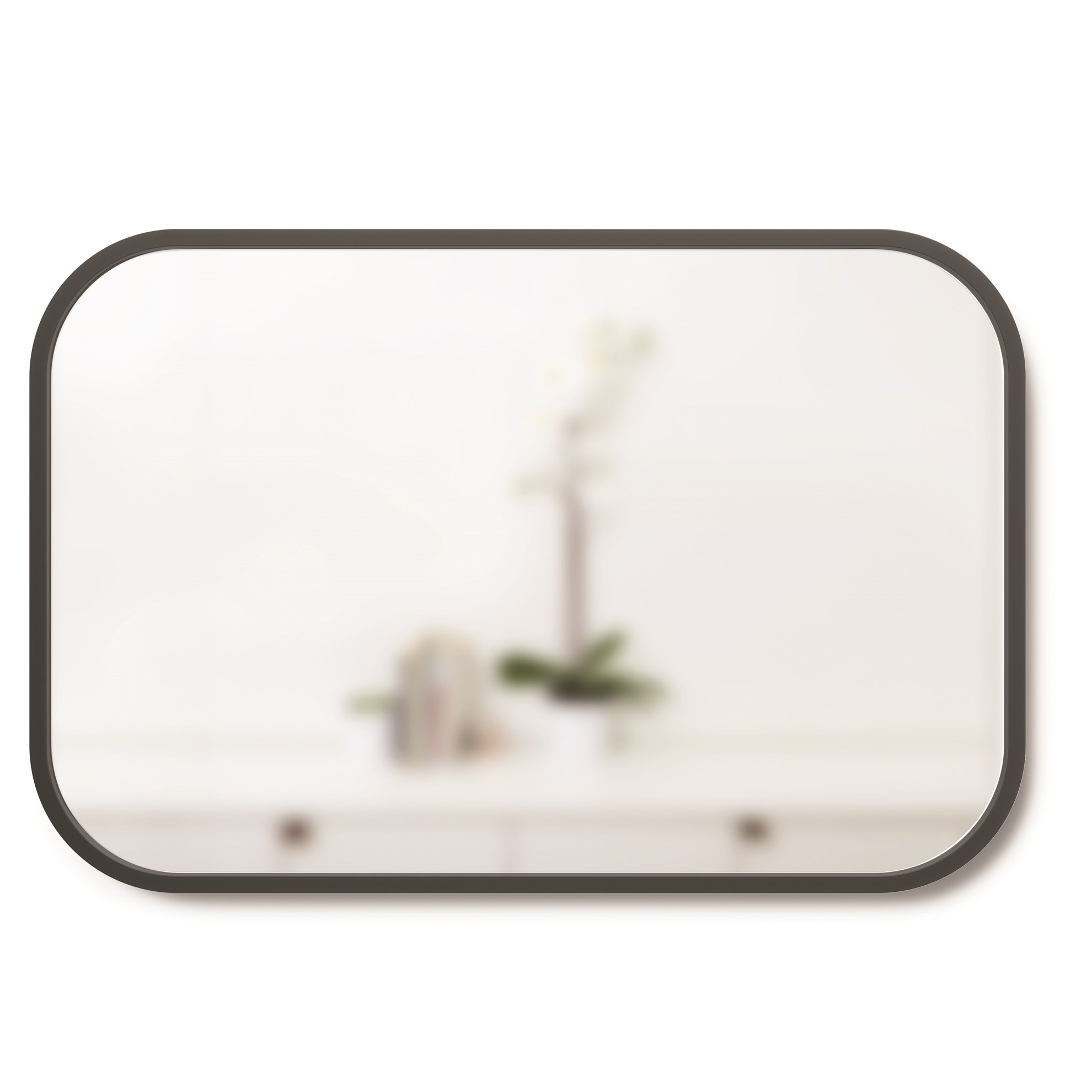 Zrcadlo HUB 61x91 cm černé_0