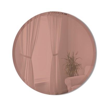 Zrcadlo HUB BEVY 61 cm měděné_1