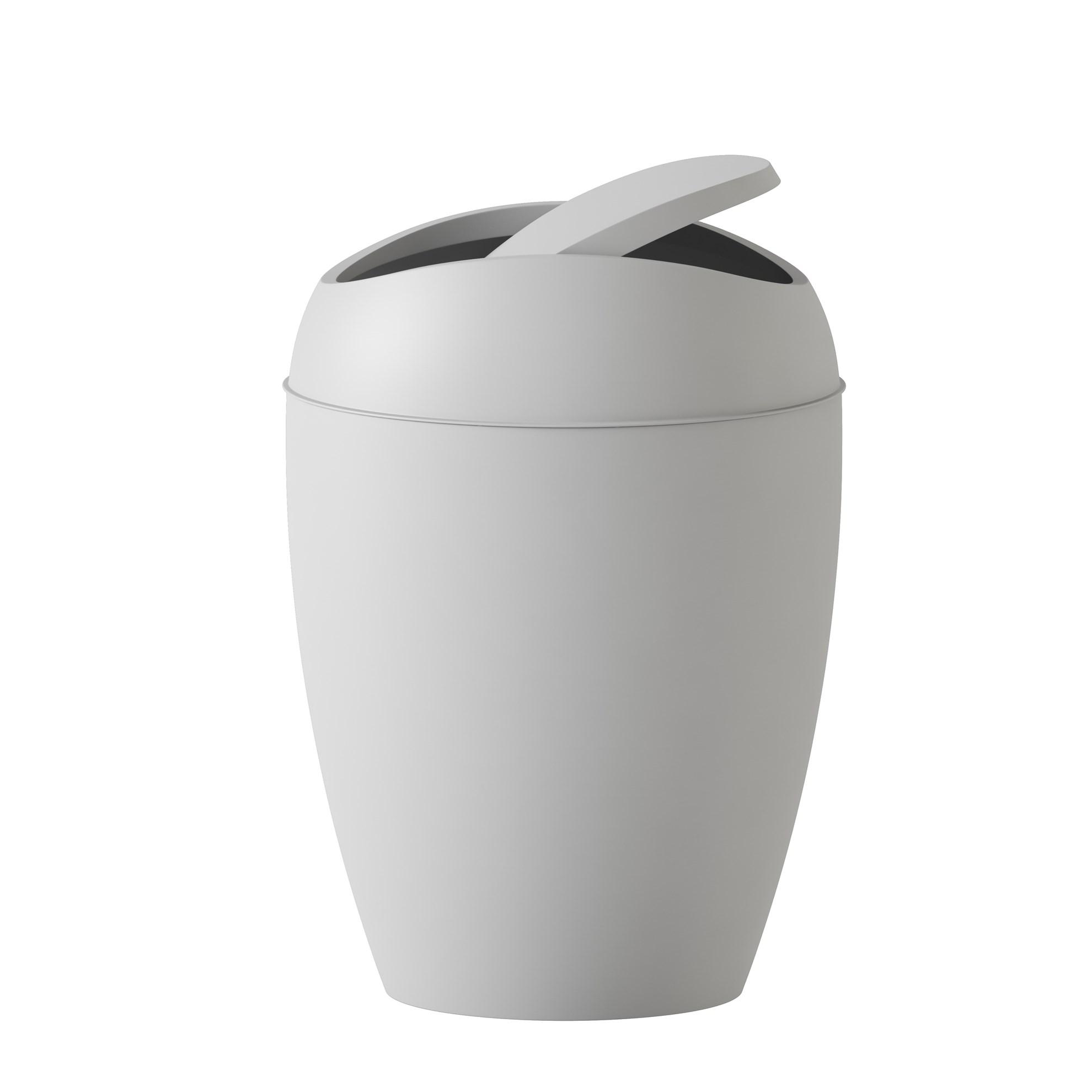 Odpadkový koš TWIRLA šedý_0