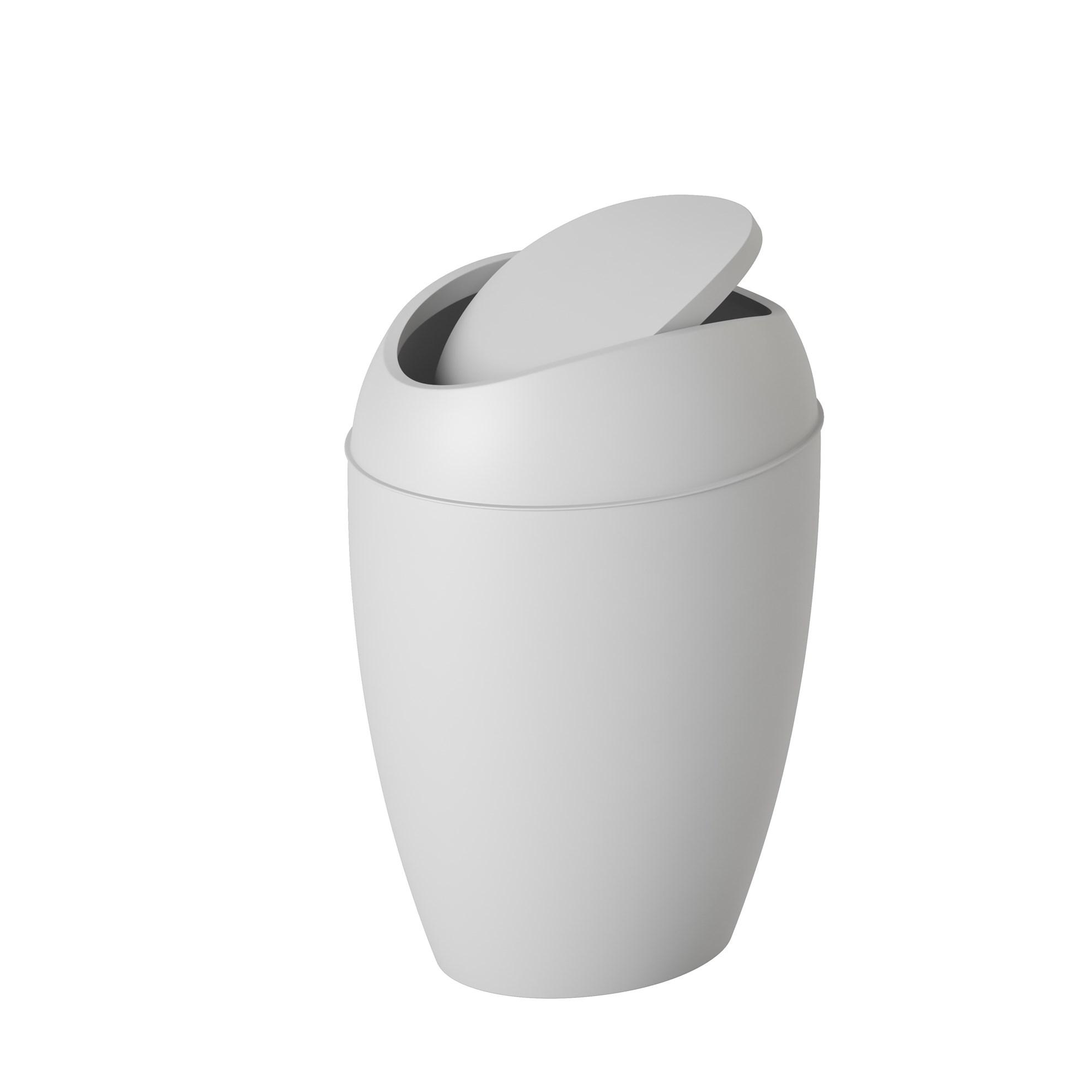 Odpadkový koš TWIRLA šedý_1