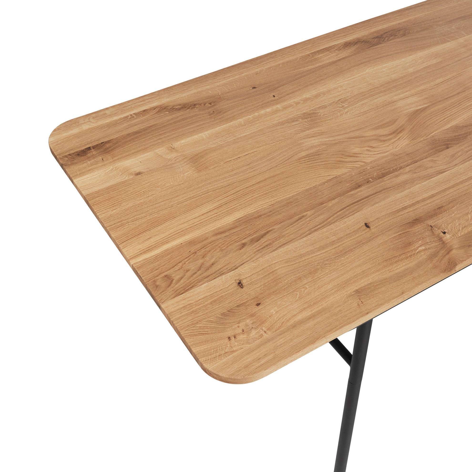 Deska pro jídelné stůl MOON OAK (pouze deska)_3