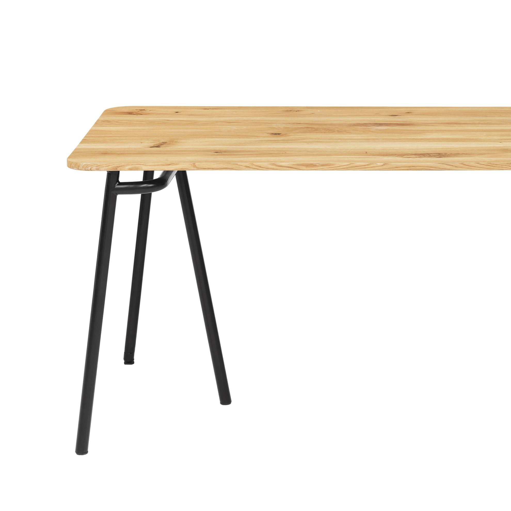 Deska pro jídelné stůl MOON OAK (pouze deska)_4
