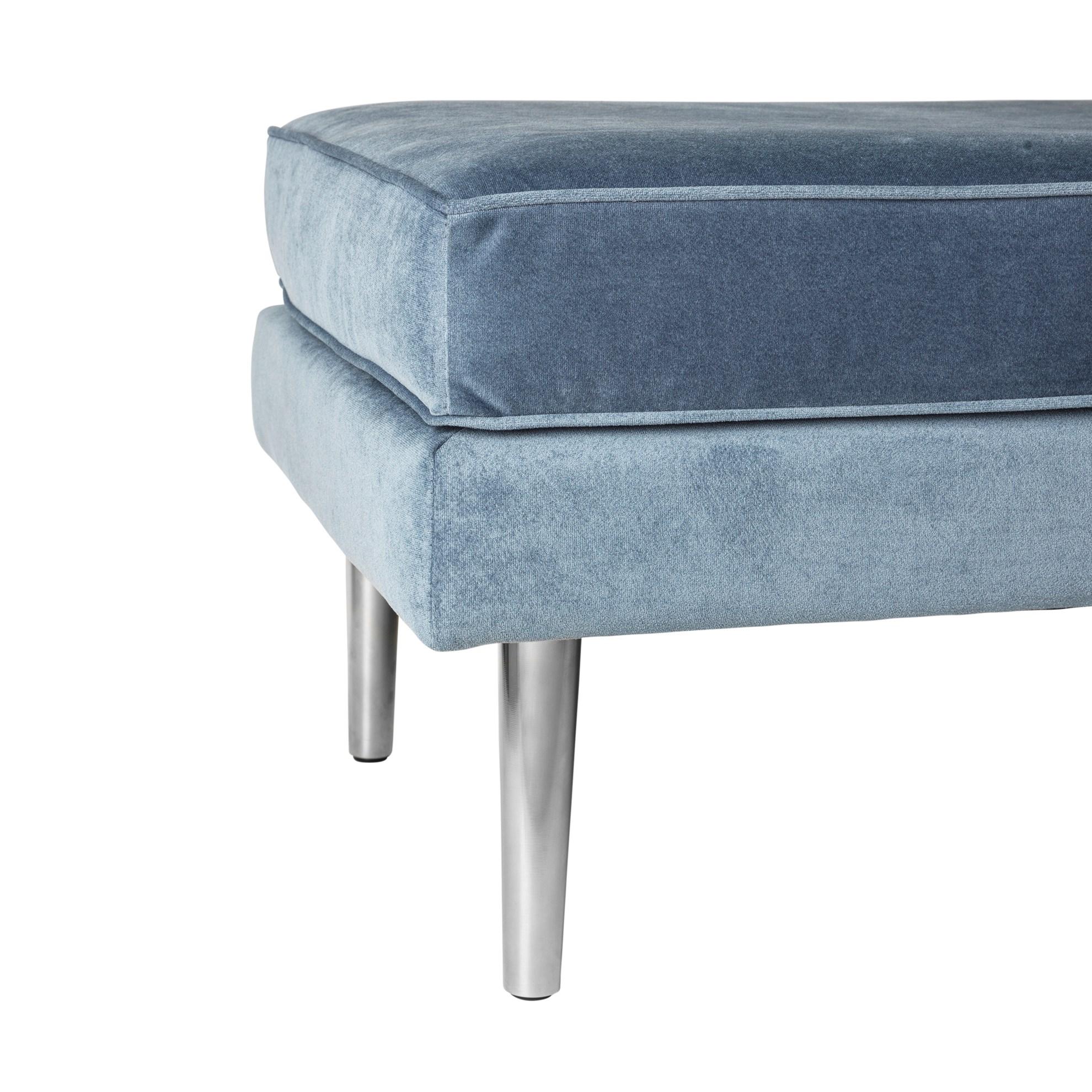 Nohy pro nábytek OCEAN AIR a WIND SET/4ks - kov/stříbrné_0