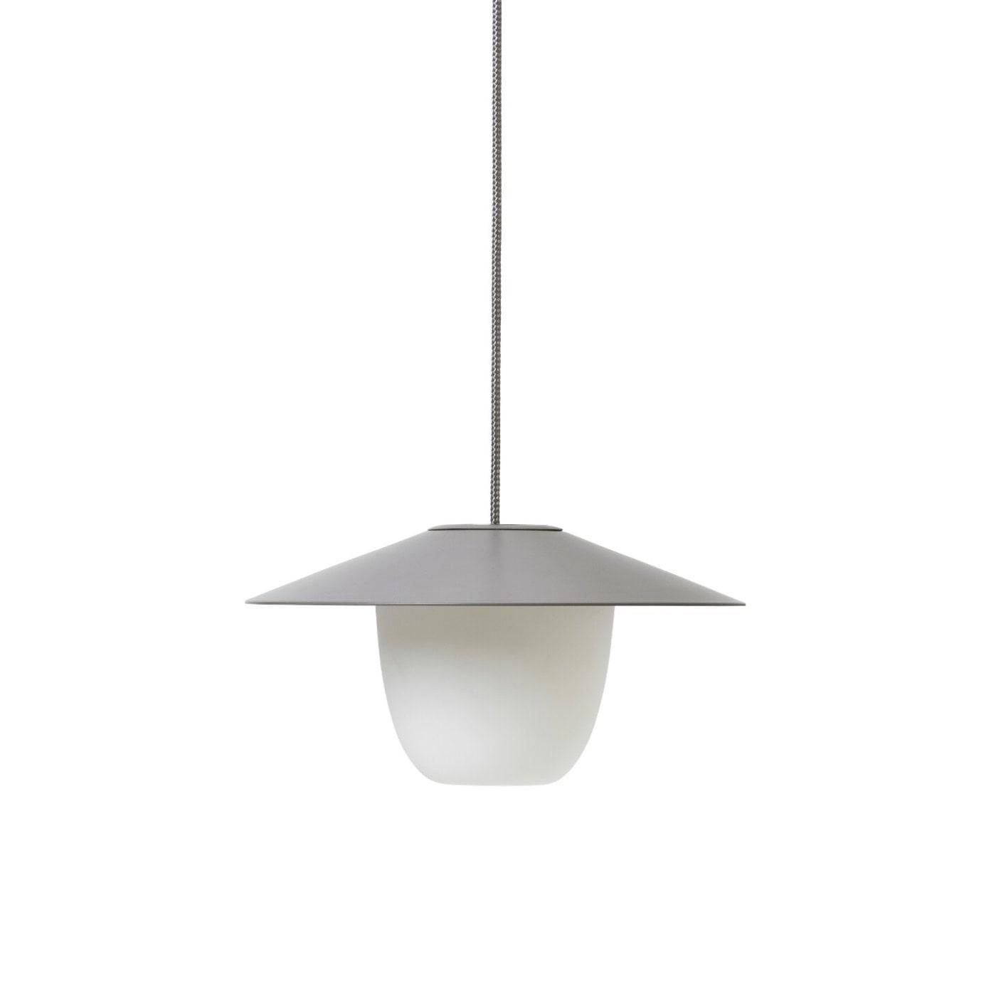 Obrázek z Přenosná LED lampa 120 cm hnědošedá