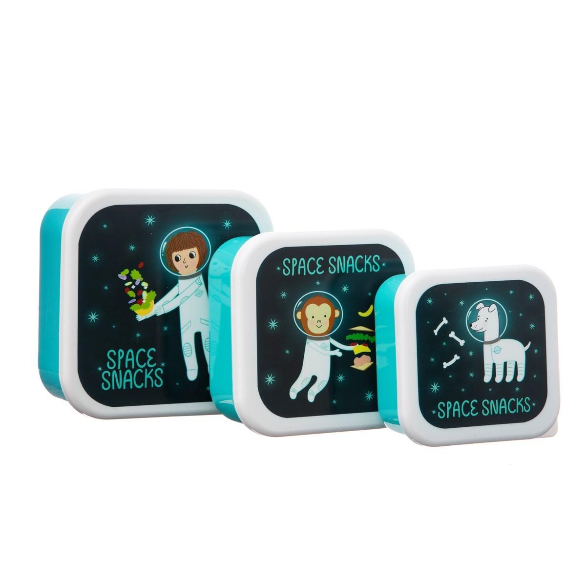 Box na svačinu/oběd Space Explorer SET/3ks_3