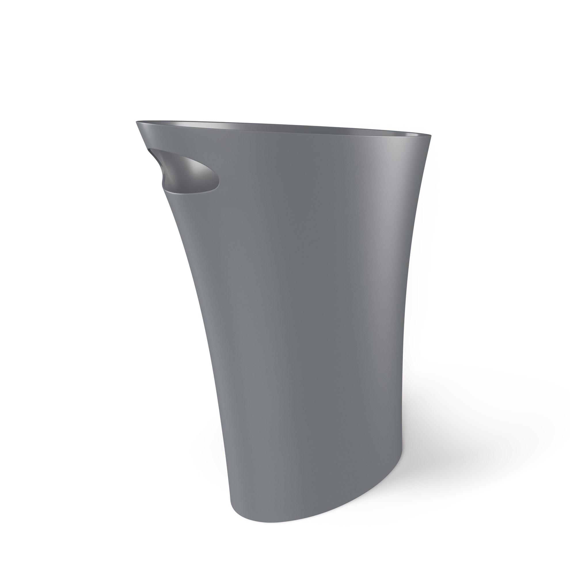 Odpadkový koš SKINNY 7,5 l šedý_0