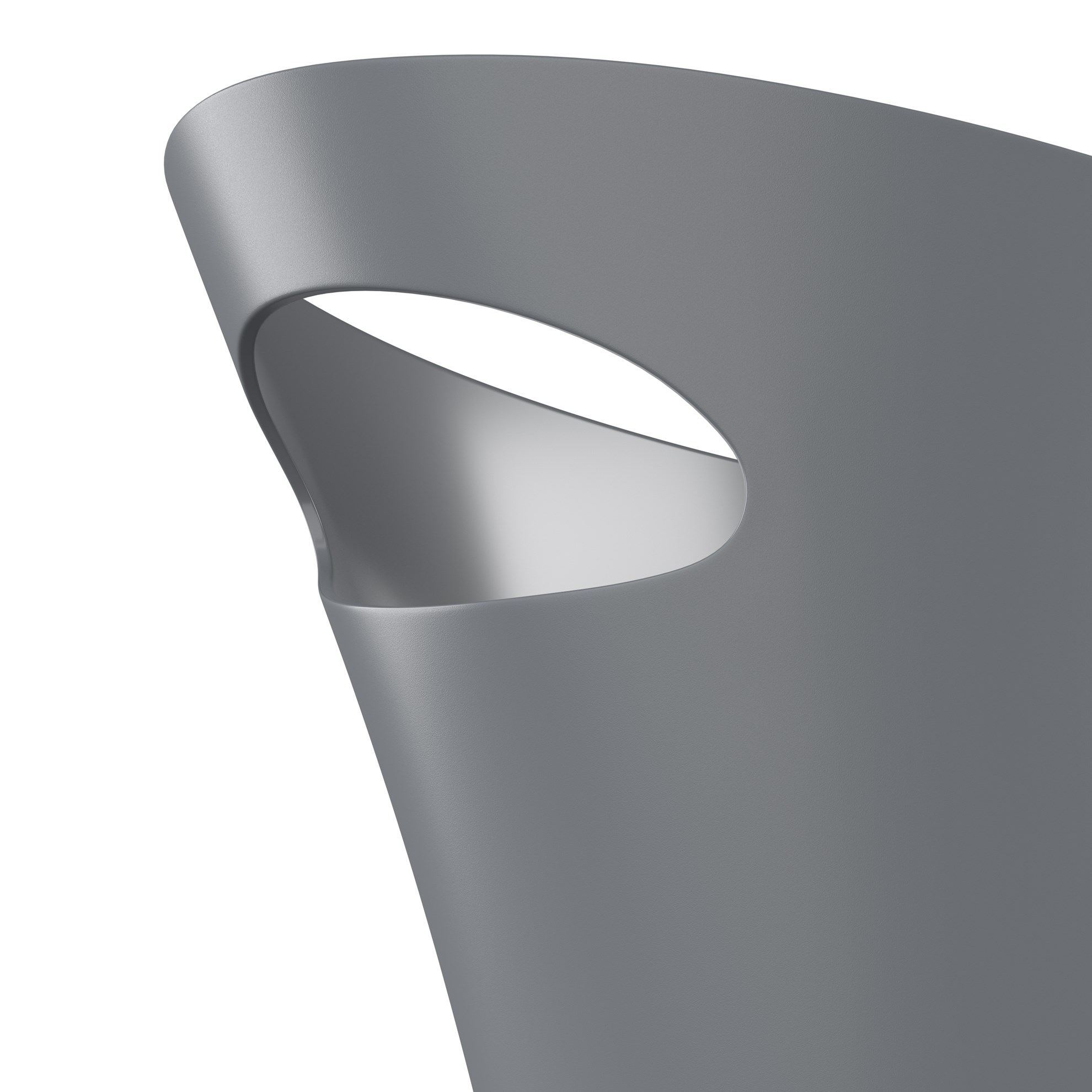 Odpadkový koš SKINNY 7,5 l šedý_3