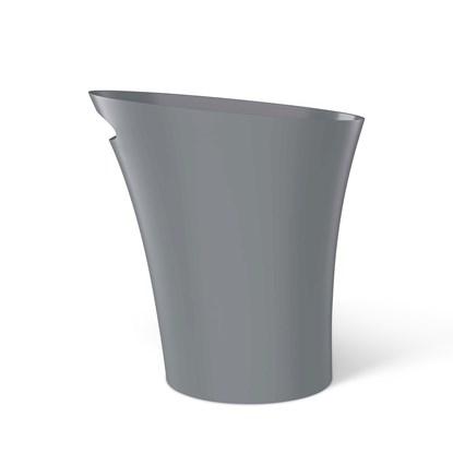 Odpadkový koš SKINNY 7,5 l šedý_4