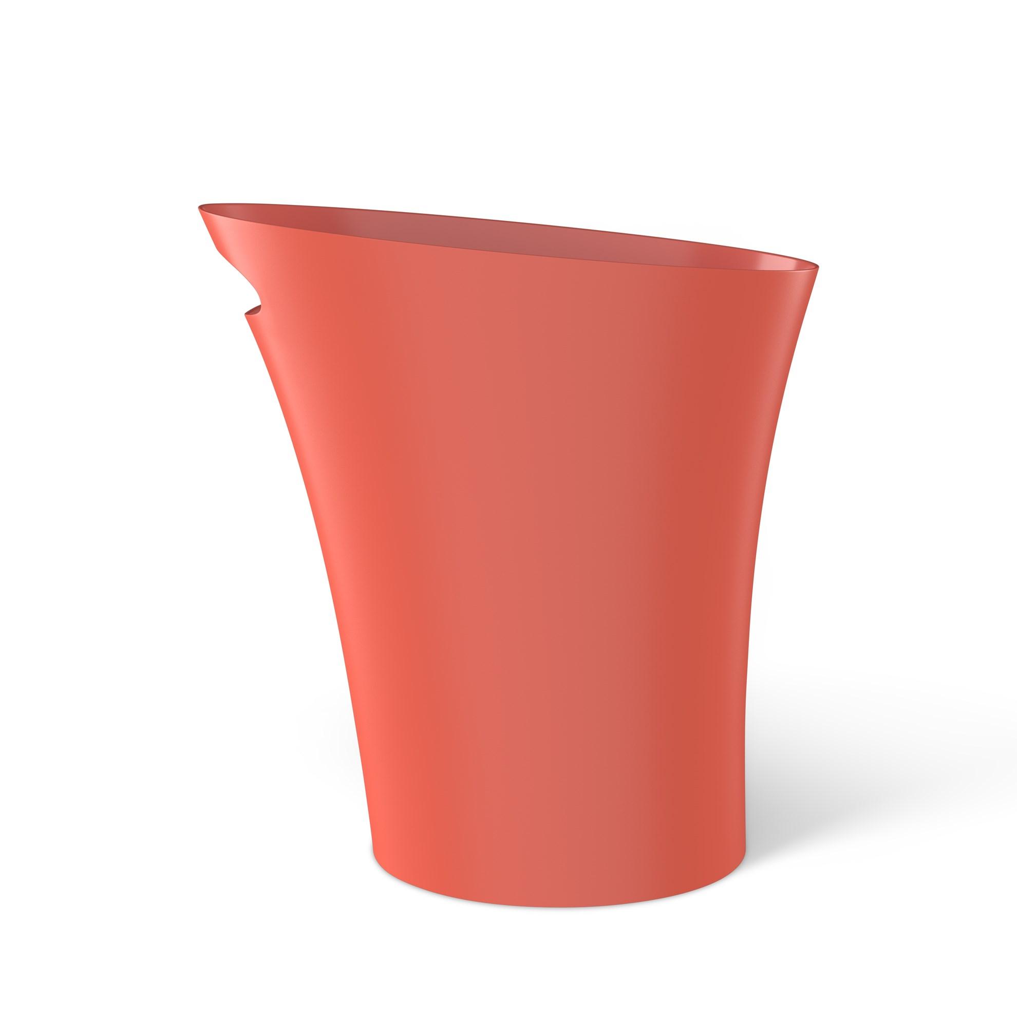 Odpadkový koš SKINNY 7,5 l korálová_4