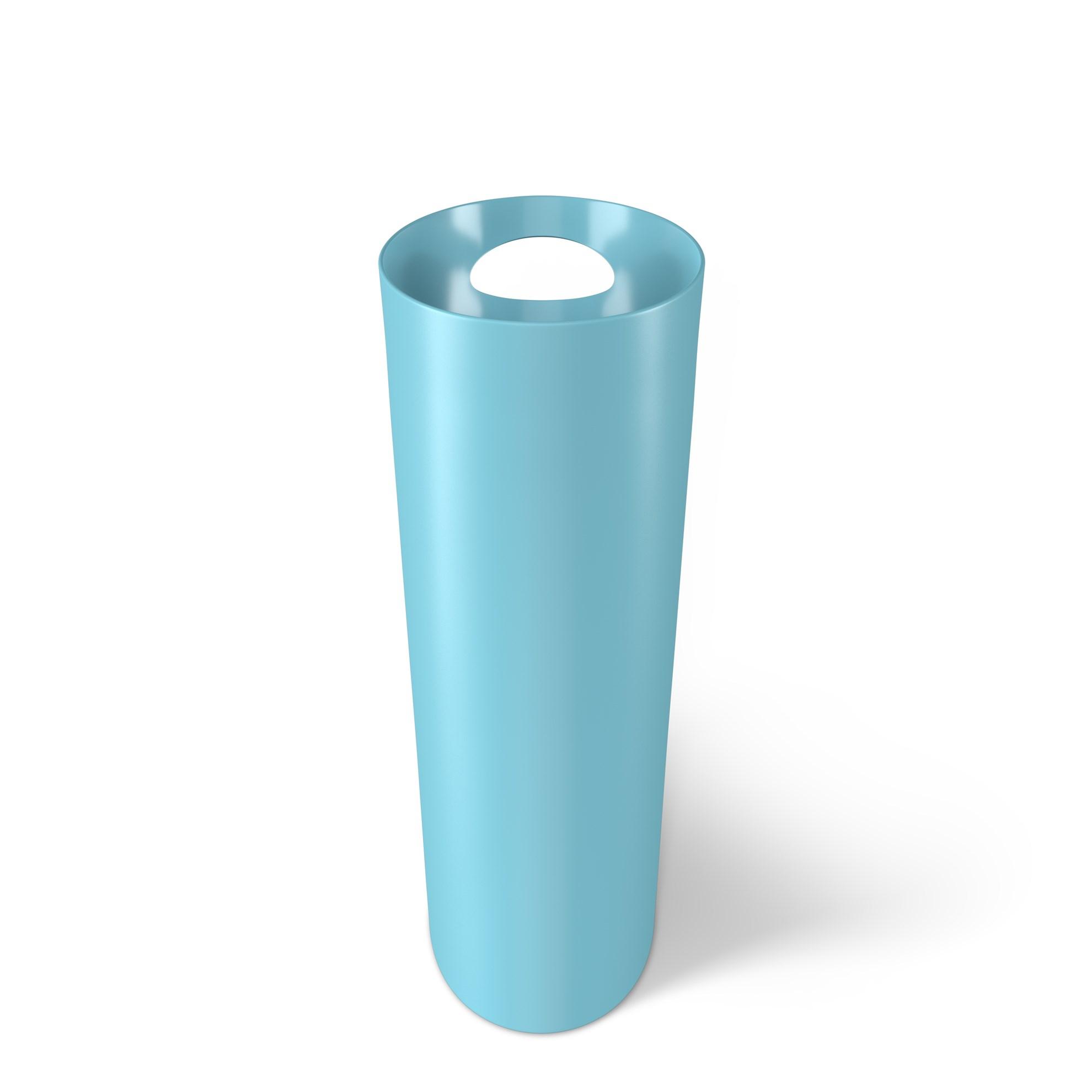 Odpadkový koš SKINNY 7,5 l tyrkysový_2