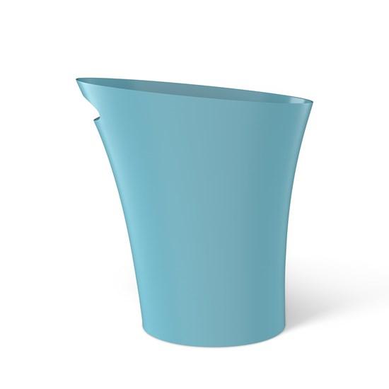 Odpadkový koš SKINNY 7,5 l tyrkysový_4