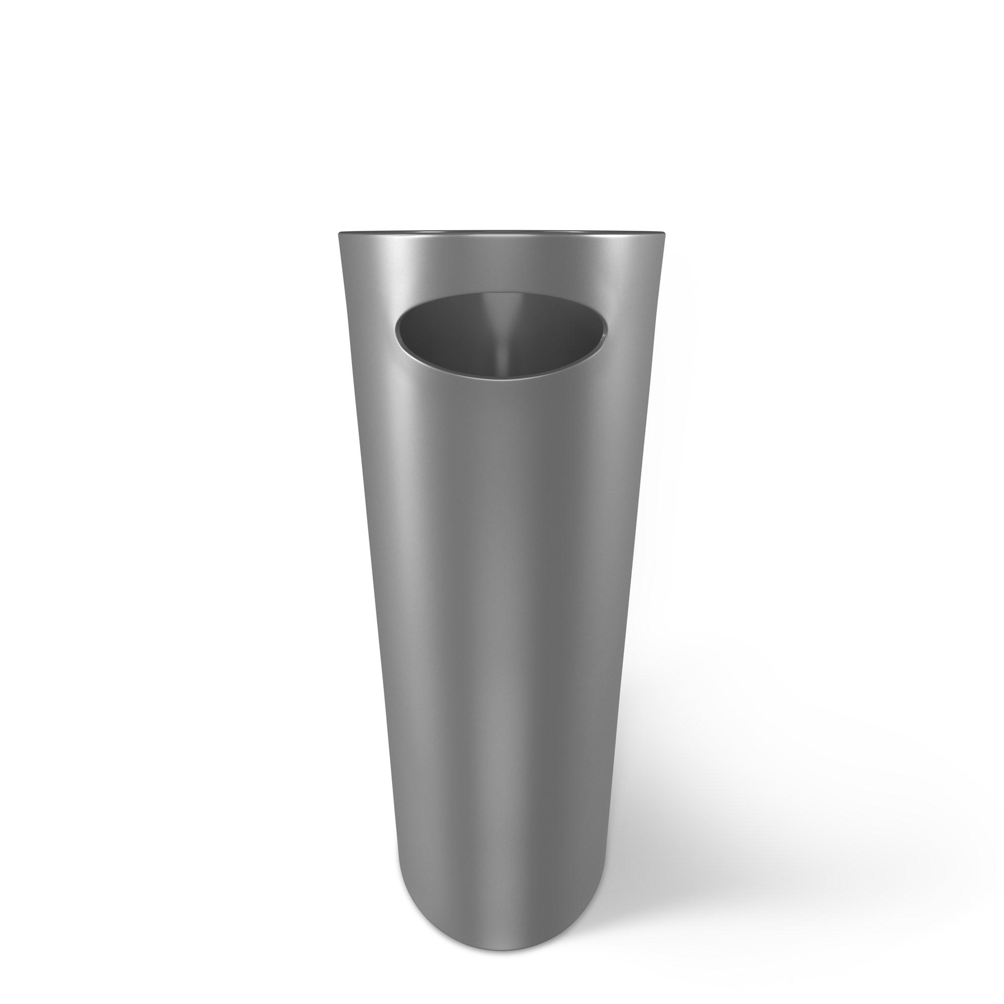Odpadkový koš SKINNY 7,5 l stříbrný_1