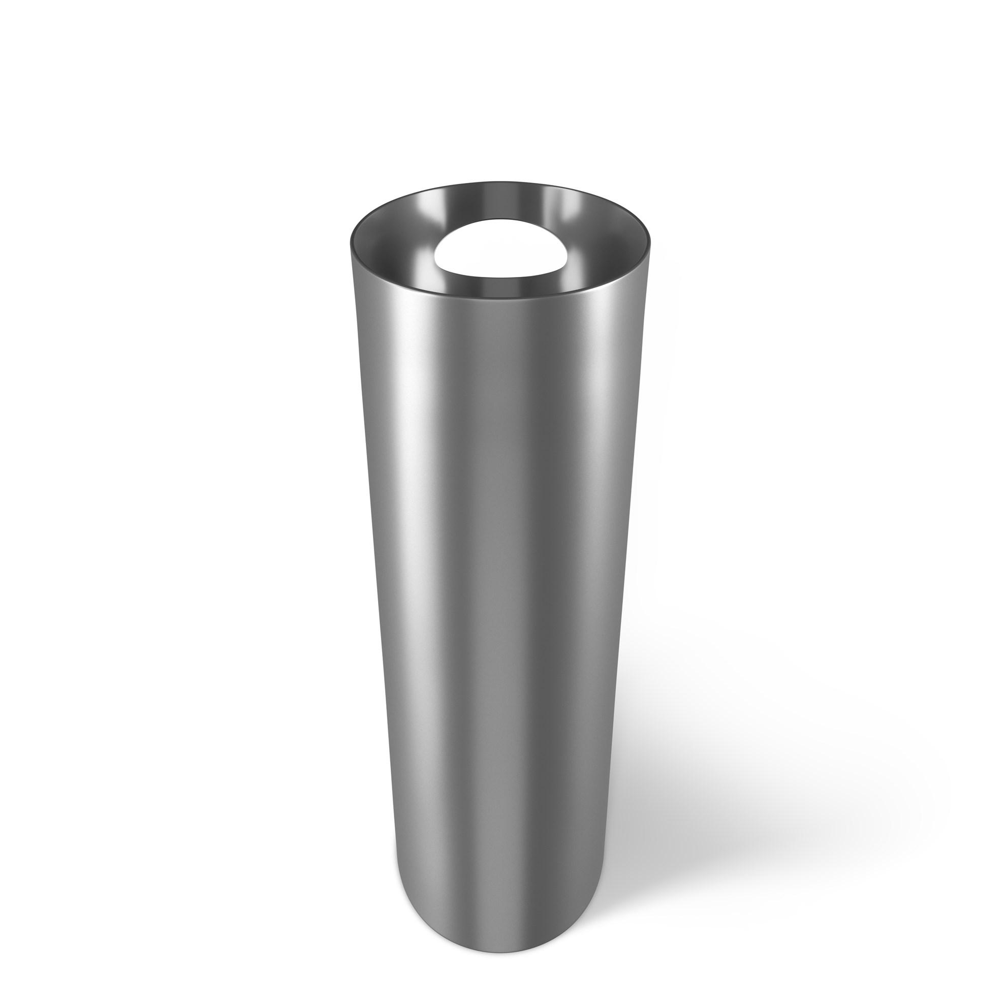 Odpadkový koš SKINNY 7,5 l stříbrný_2