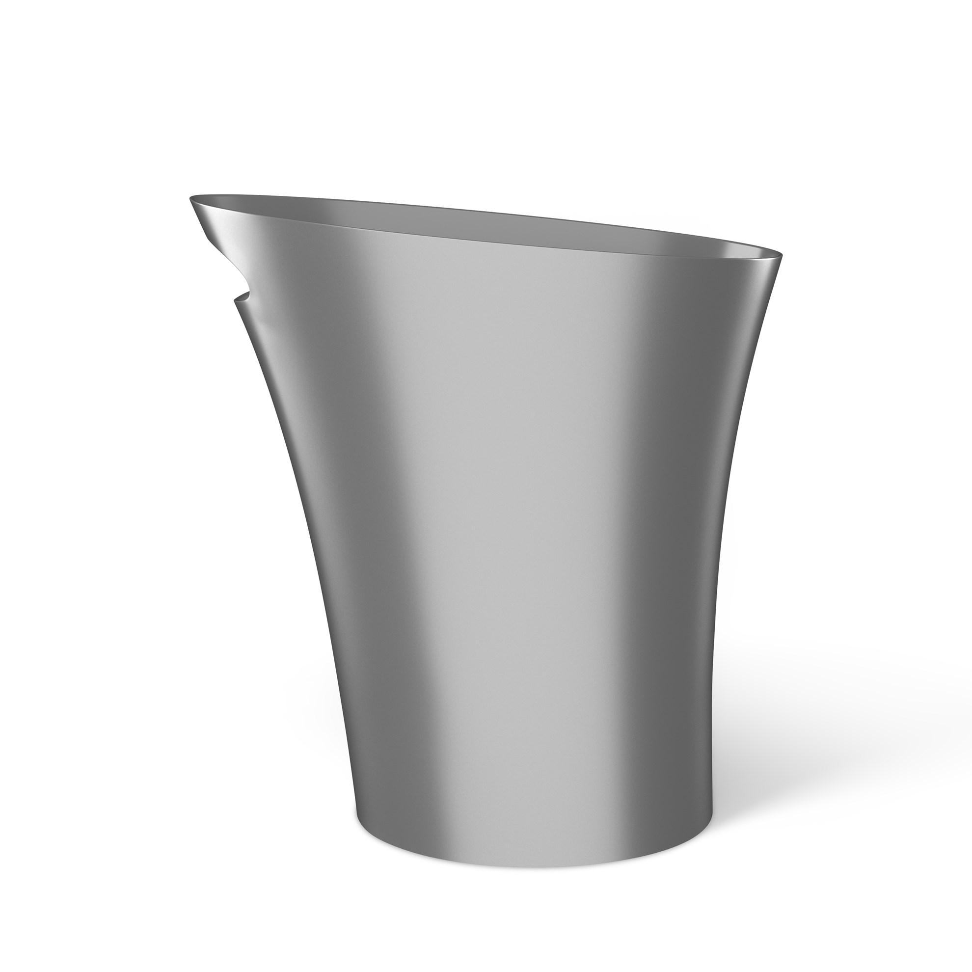 Odpadkový koš SKINNY 7,5 l stříbrný_4