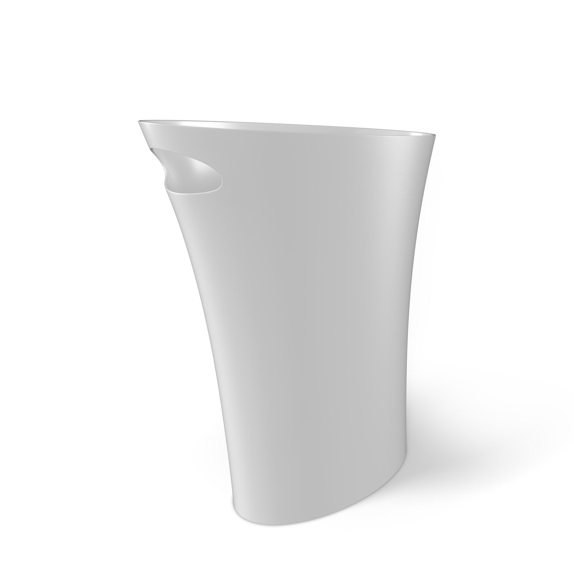 Odpadkový koš SKINNY 7,5 l bílý_0