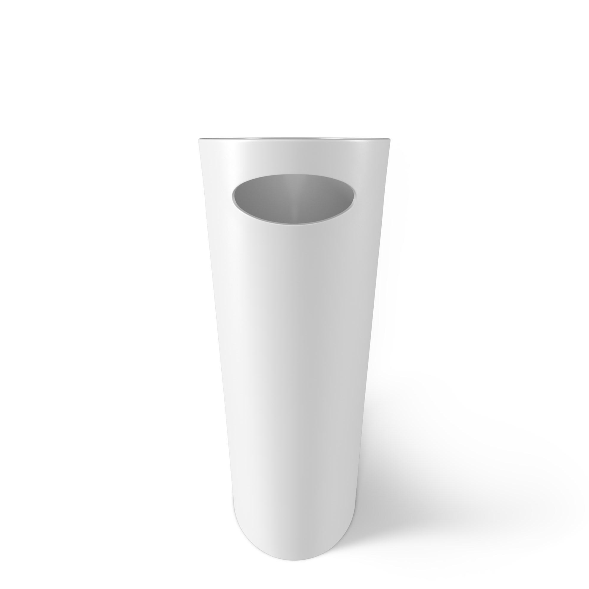 Odpadkový koš SKINNY 7,5 l bílý_1