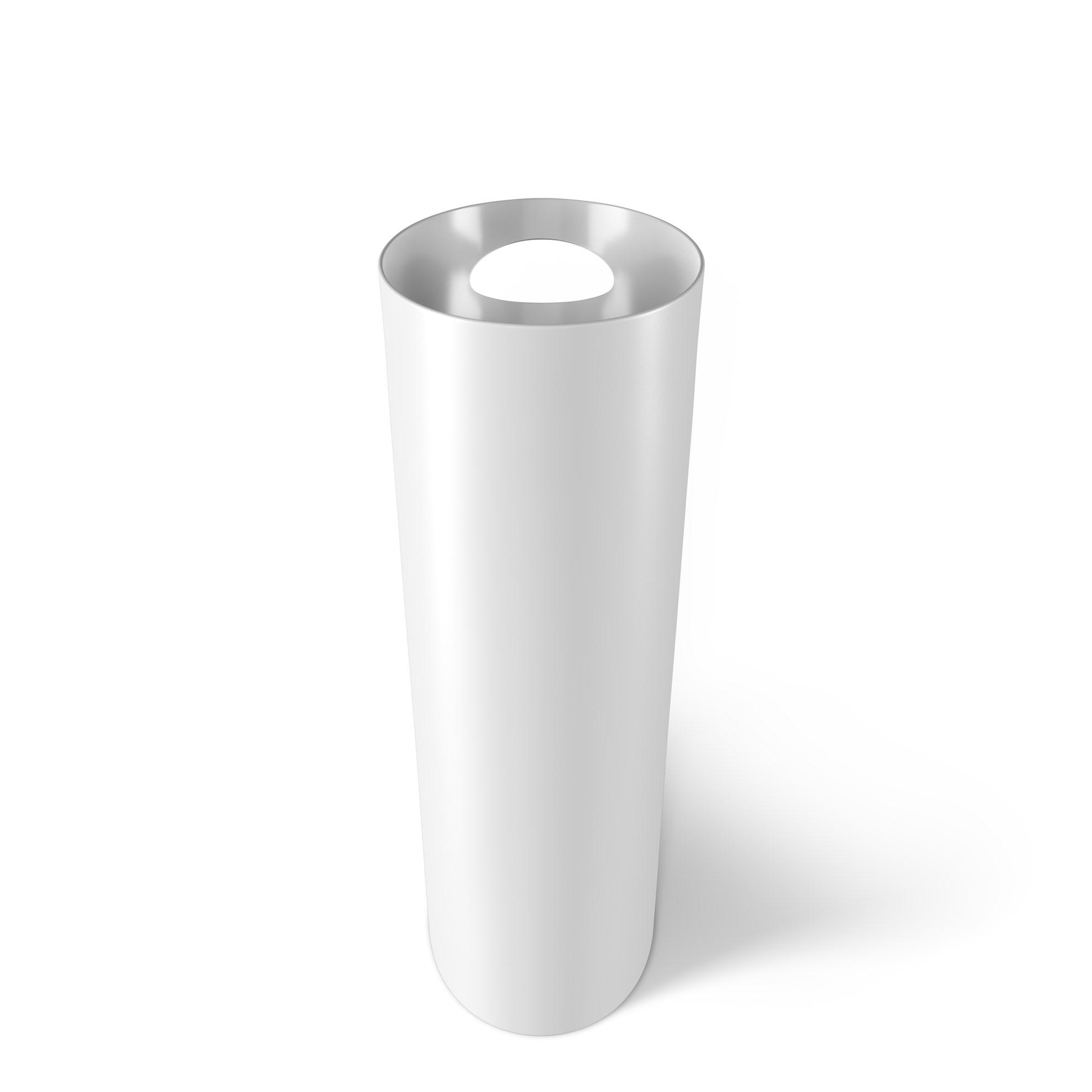 Odpadkový koš SKINNY 7,5 l bílý_2