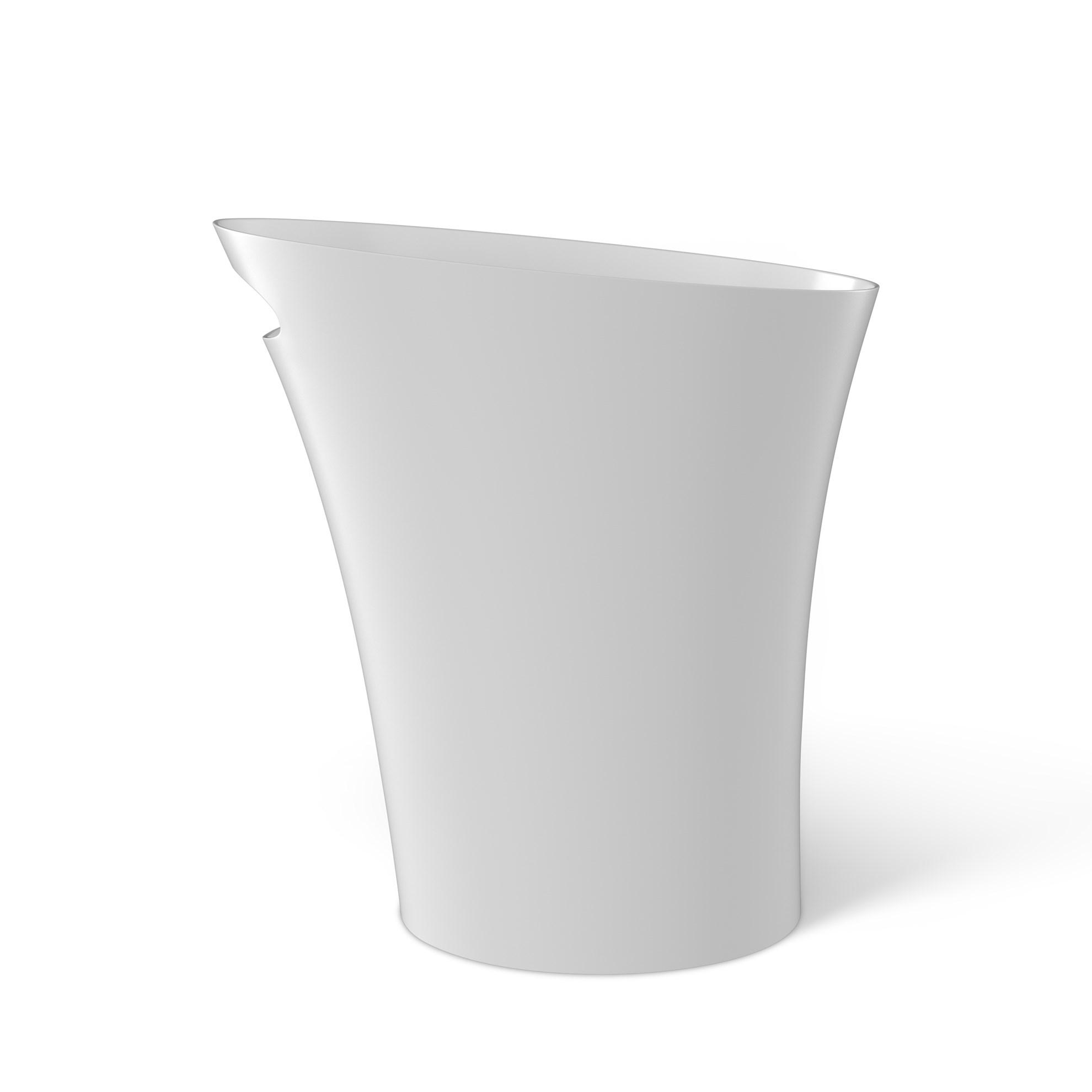 Odpadkový koš SKINNY 7,5 l bílý_4