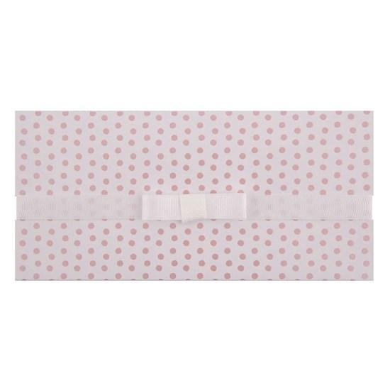 Dárková obálka 23x11 cm Dots Schleife_0