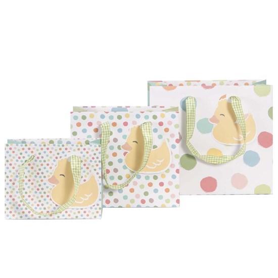 Kvalitní dárkové tašky SET/3 vel. Entchen Dots bunt_0