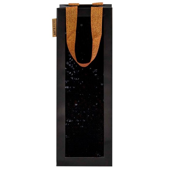 Taška na lahve s pajetkami 13x37x13 cm_0