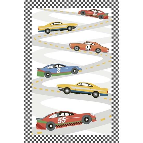 Přání s obálkou lentikulární Autorennen_0