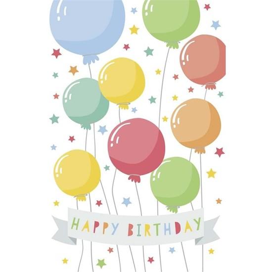Přání s obálkou lentikulární Birthday Luftballons_0