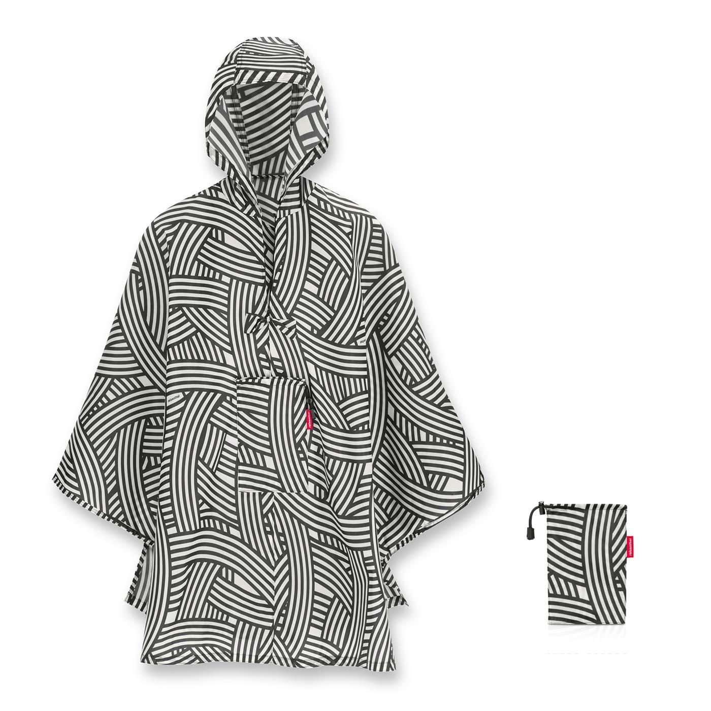 Skládací pláštěnka Mini Maxi Poncho zebra_3