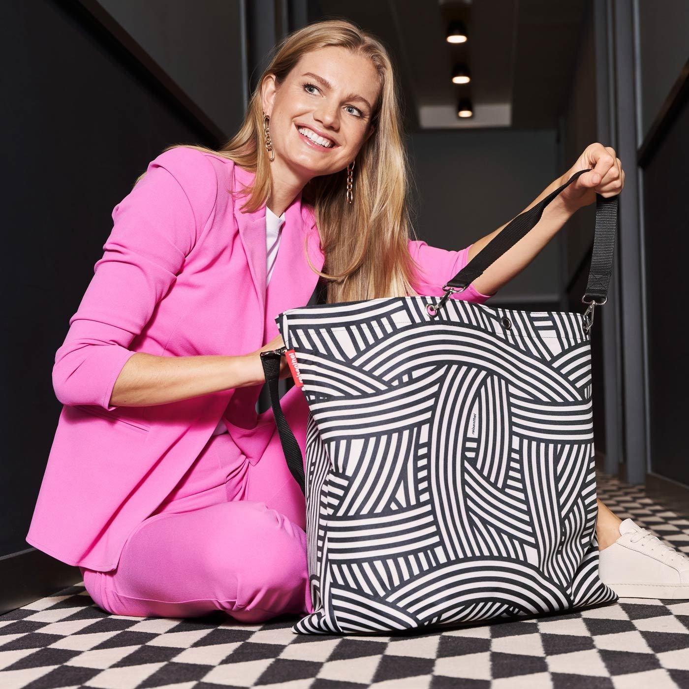 Nákupní taška Shopper XL zebra_0