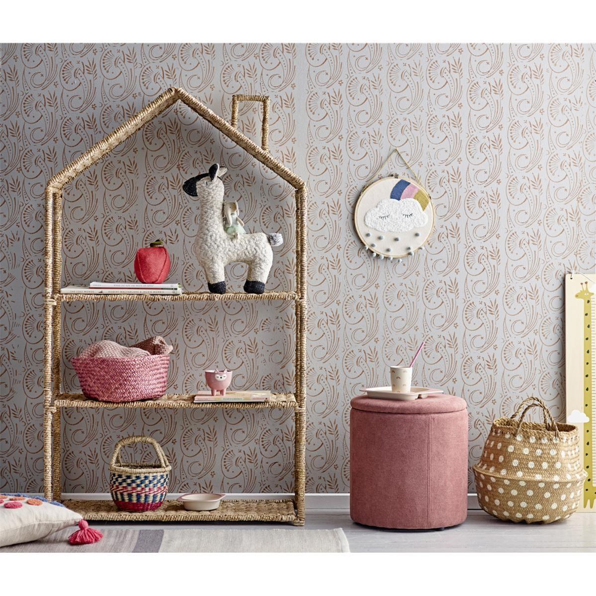 Nástěnná dekorace do dětského pokoje P.28 cm - mráček s duhou_0