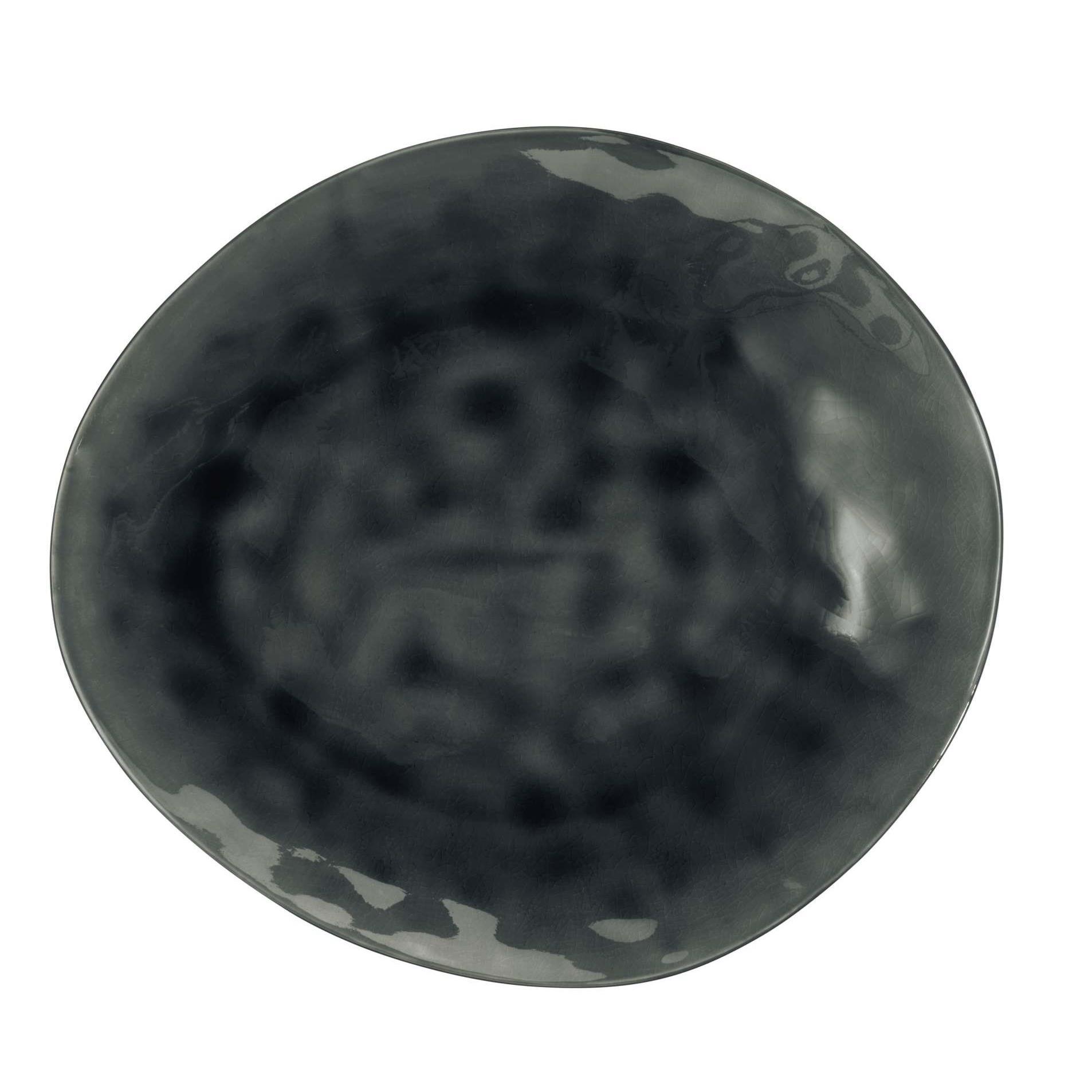 Talíř mělký 27 cm šedý_0