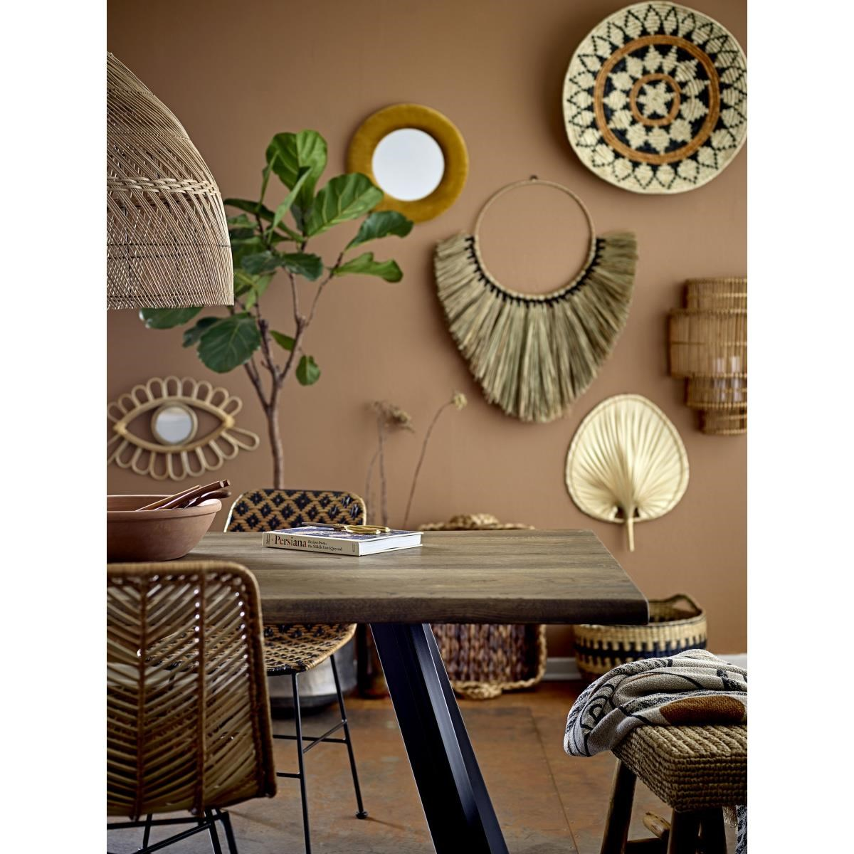 Dekorace na zeď - palmový list, SET2ks_5