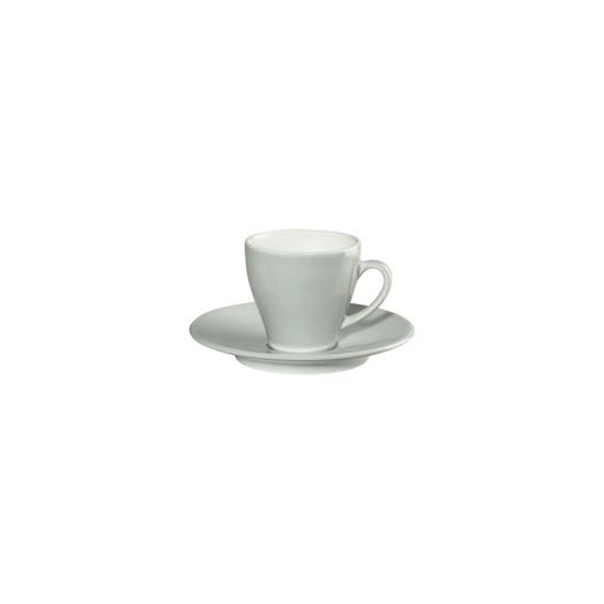 Šálek na espresso s podšálkem CAFFÉ TI AMO 0,1 l, sv.modrý_0