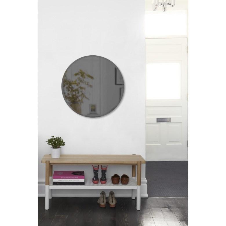 Obrázek z Zrcadlo HUB kouřově šedé 91 cm