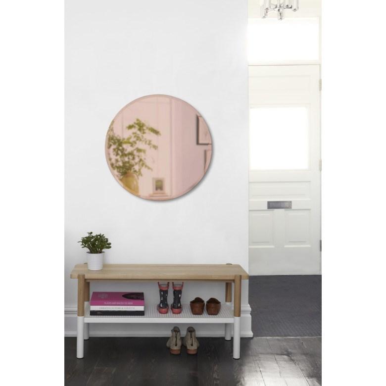 Obrázek z Zrcadlo HUB BEVY 61 cm měděné