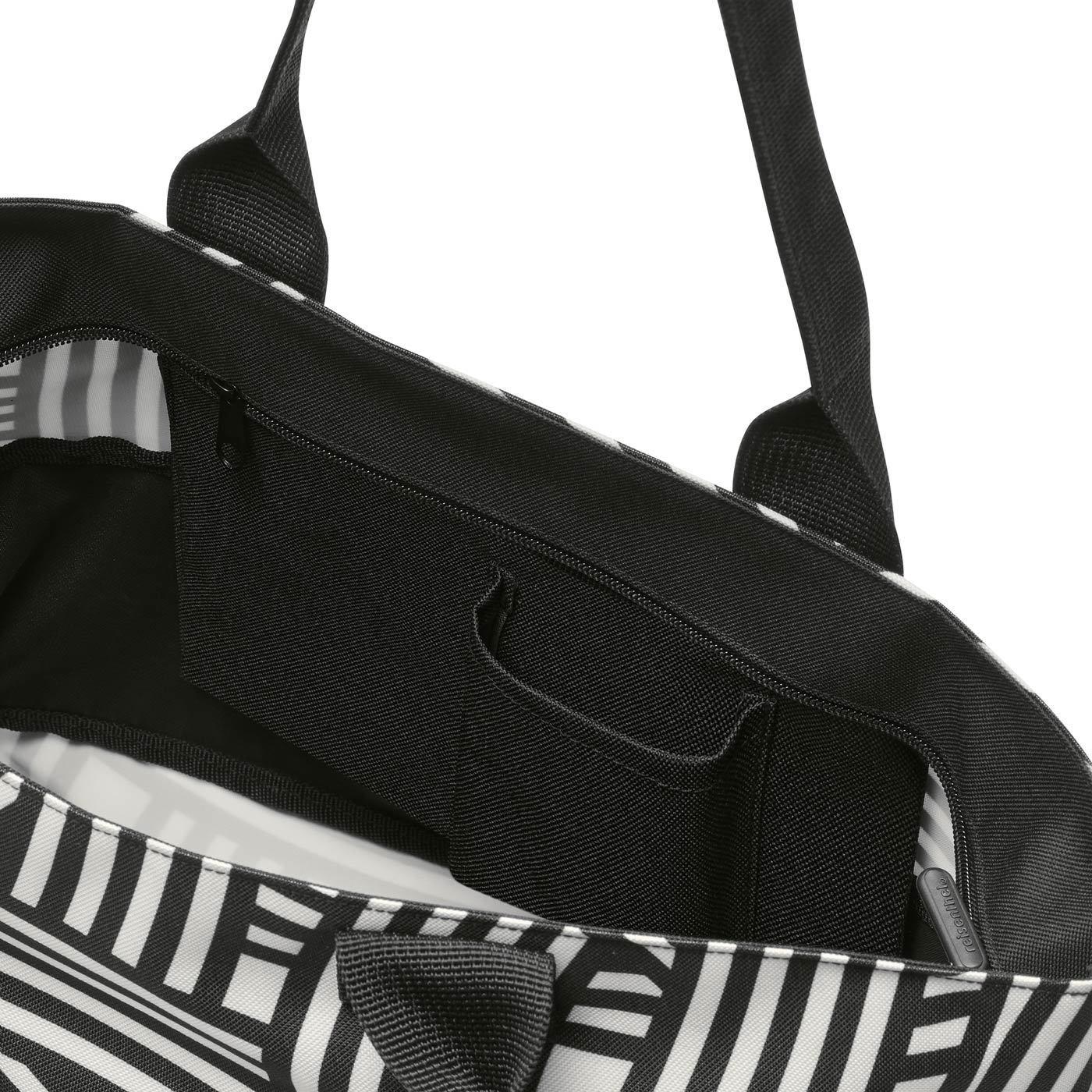 Chytrá taška přes rameno Shopper e1 zebra_1