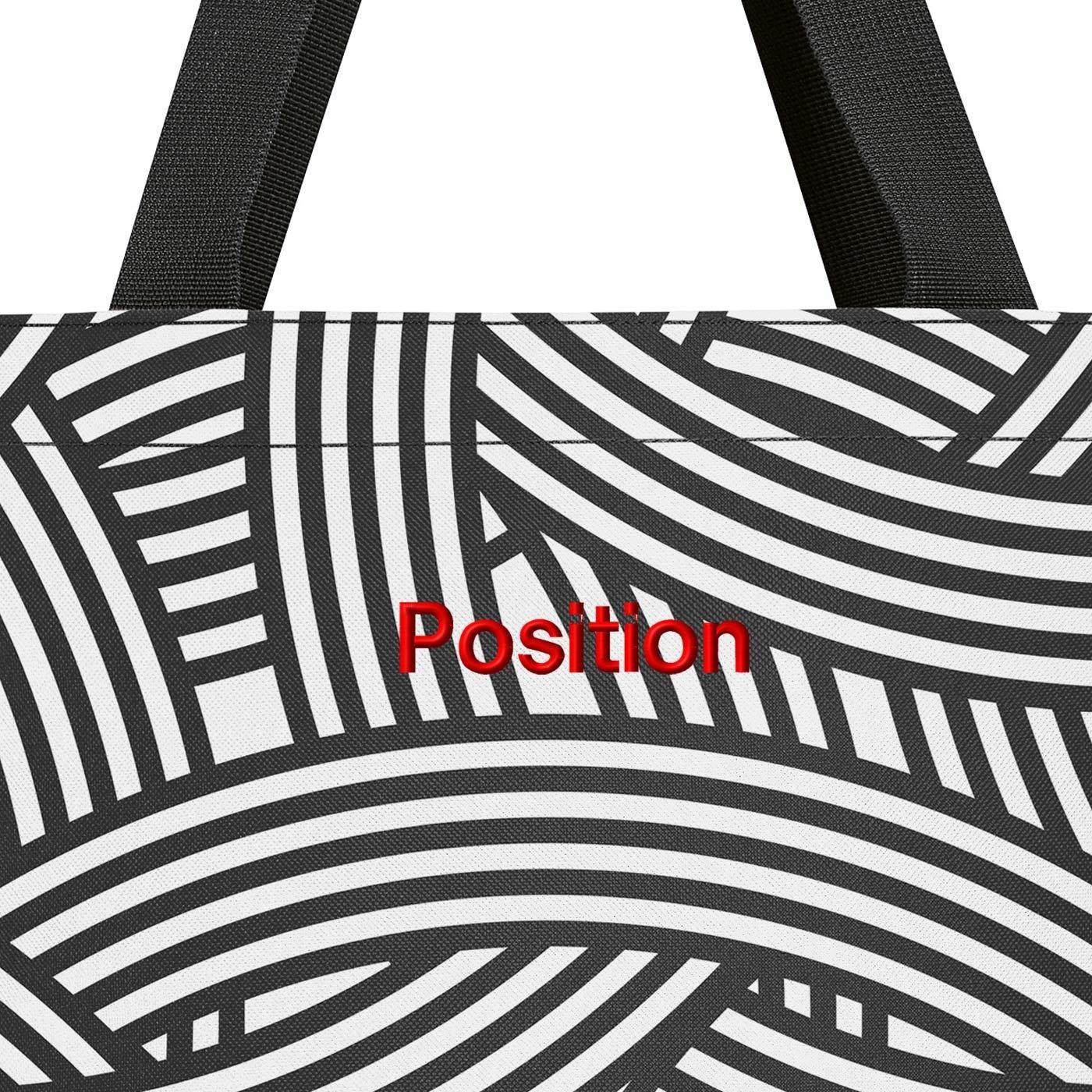 Nákupní taška Shopper M zebra_1