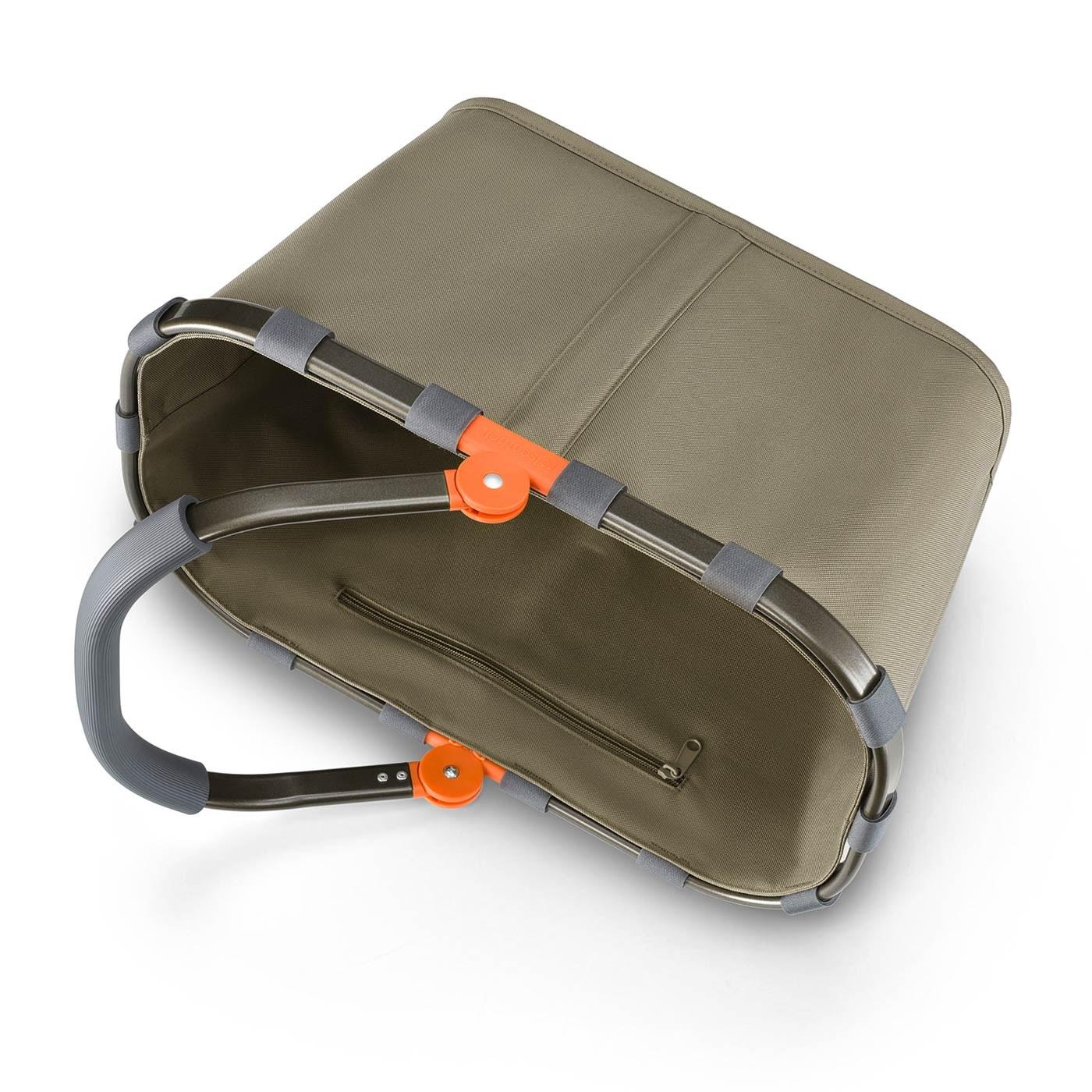 Nákupní košík Carrybag frame olive green_0